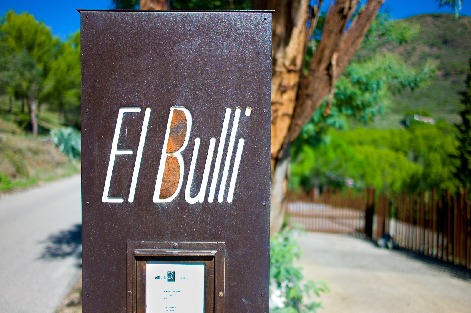 El Bulli - Entrance to the Restaurant