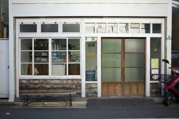 Bear Pond Espresso, Tokyo - Outside of Cafe, a former Setagaya candy shop