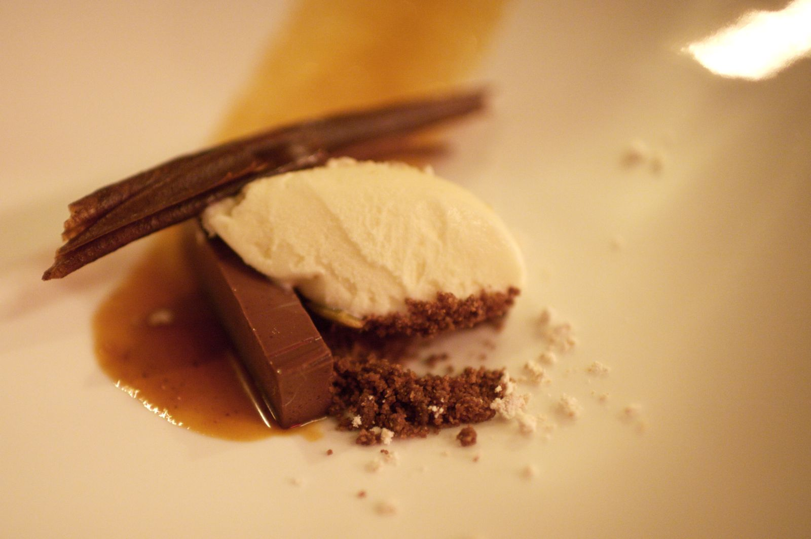 Soft Chocolate, Sesame Ice Cream, Mole