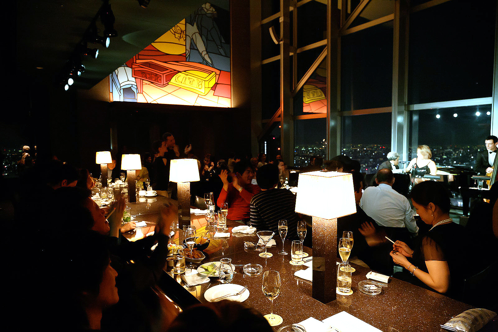 New York Grill, Tokyo - Twelve O'Clock at the New York Bar