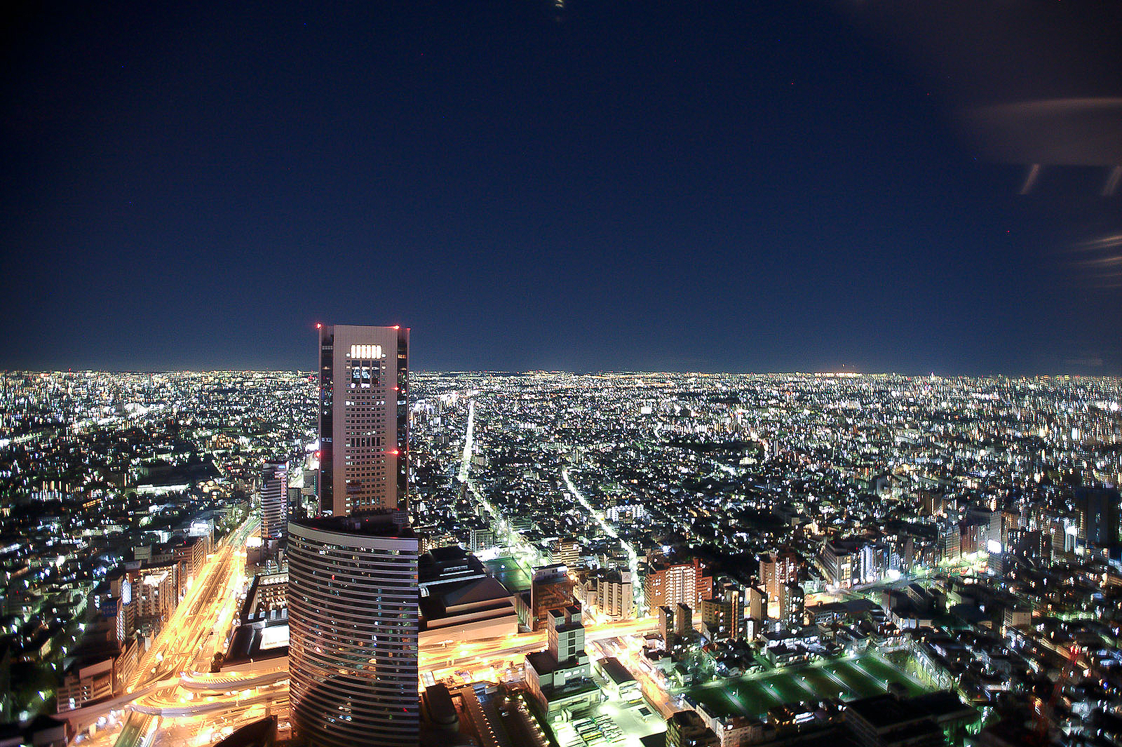 New York Grill, Tokyo - View of Tokyo to the West