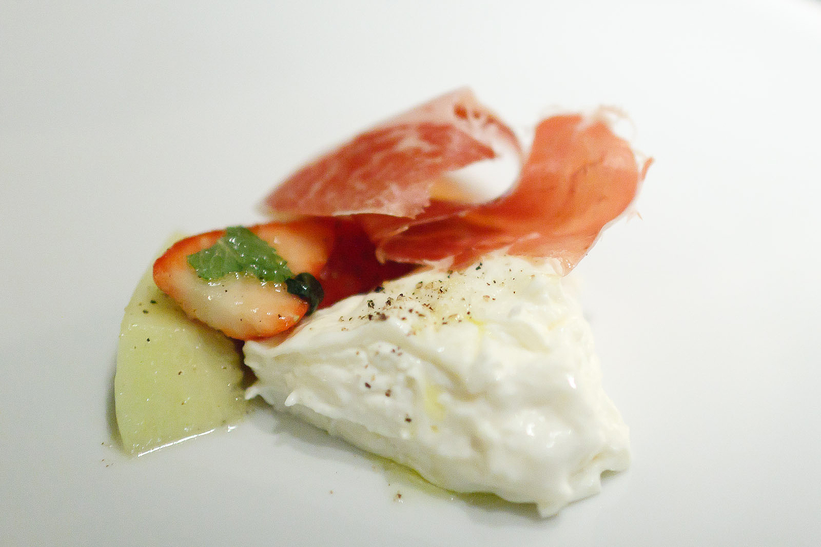 New York Grill, Tokyo - Cured Meat and Ricotta