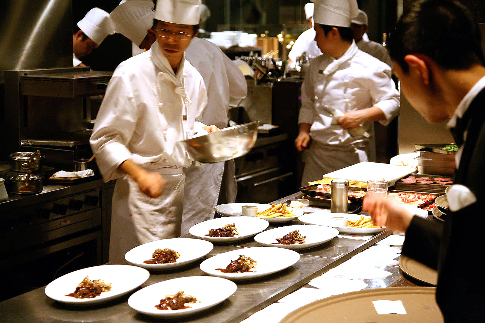New York Grill, Tokyo - Plating