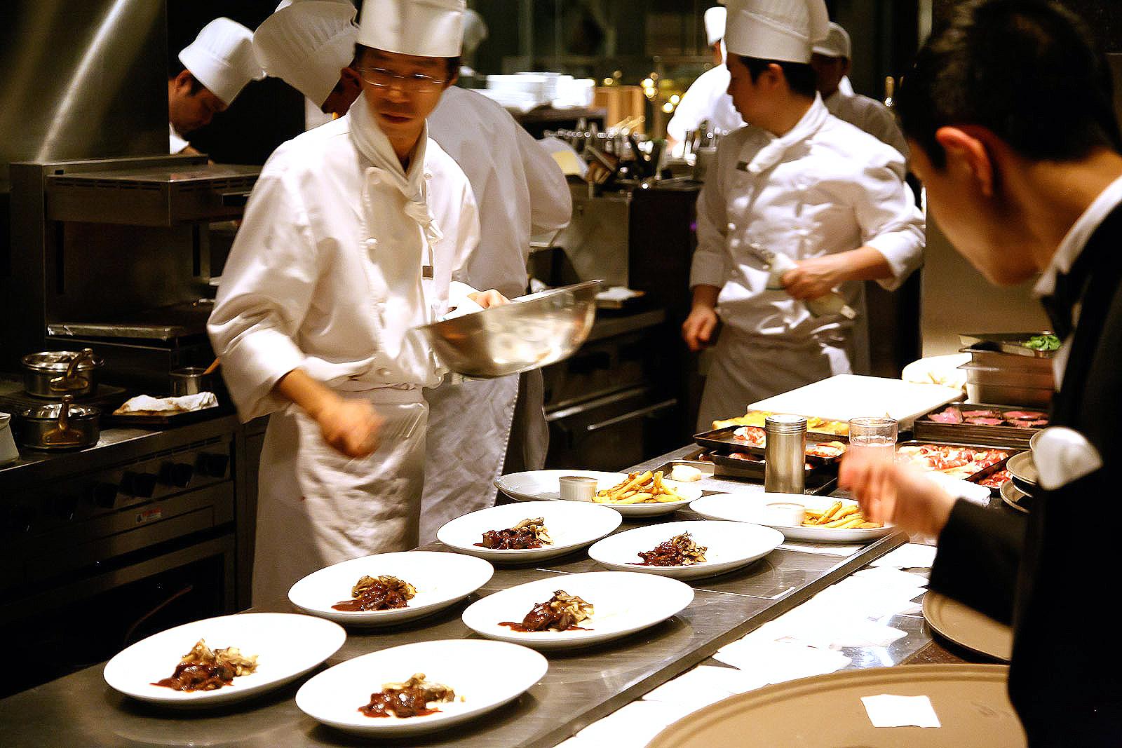 New York Grill, Tokyo - Plating