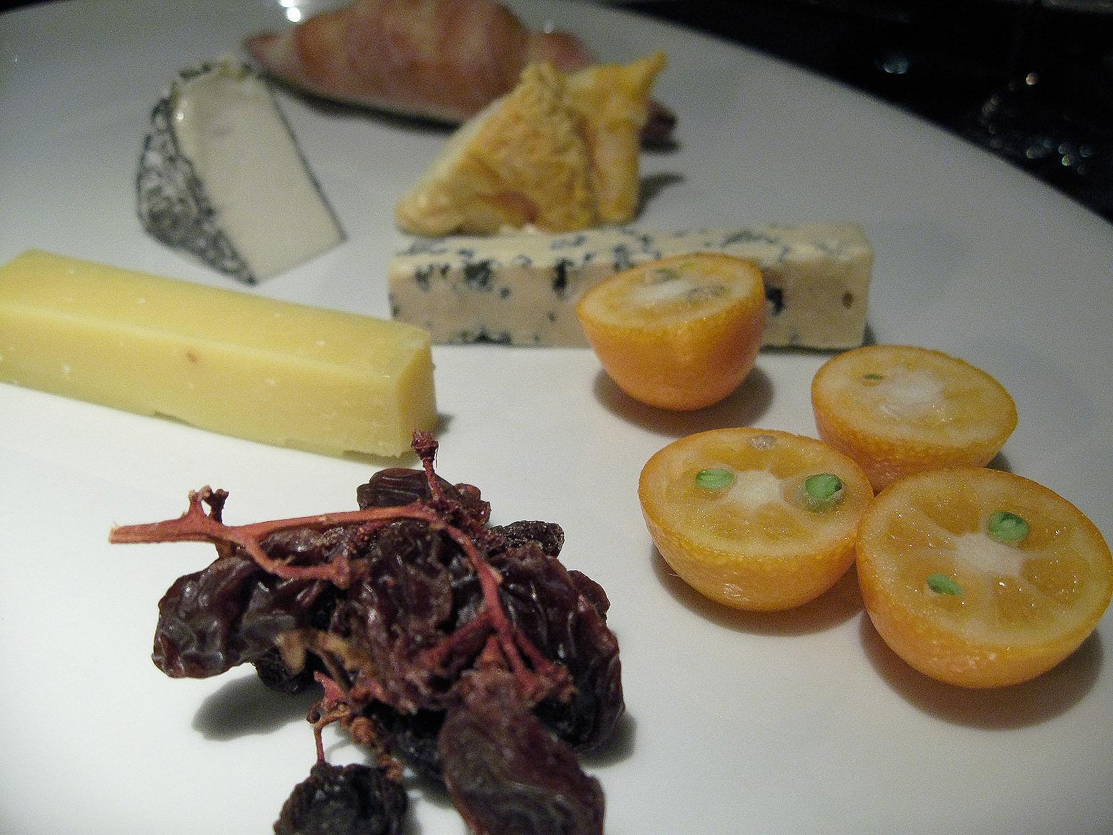 New York Grill, Tokyo - Comé, Bleu d'Auvergne, Langrès, Selles-sur-cher