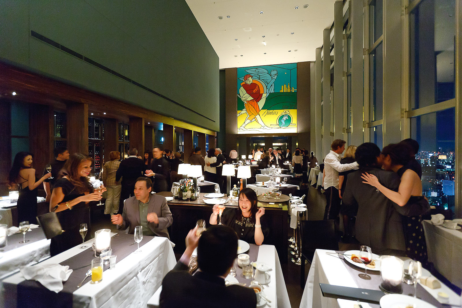 New York Grill, Tokyo - New Year's at the Park Hyatt's New York Grill, Tokyo