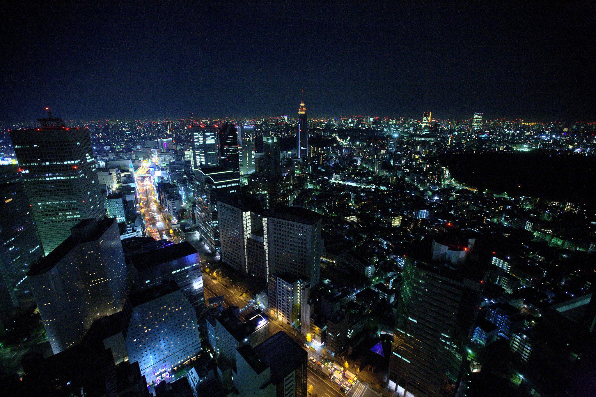 Kozue, Tokyo - View from Kozue