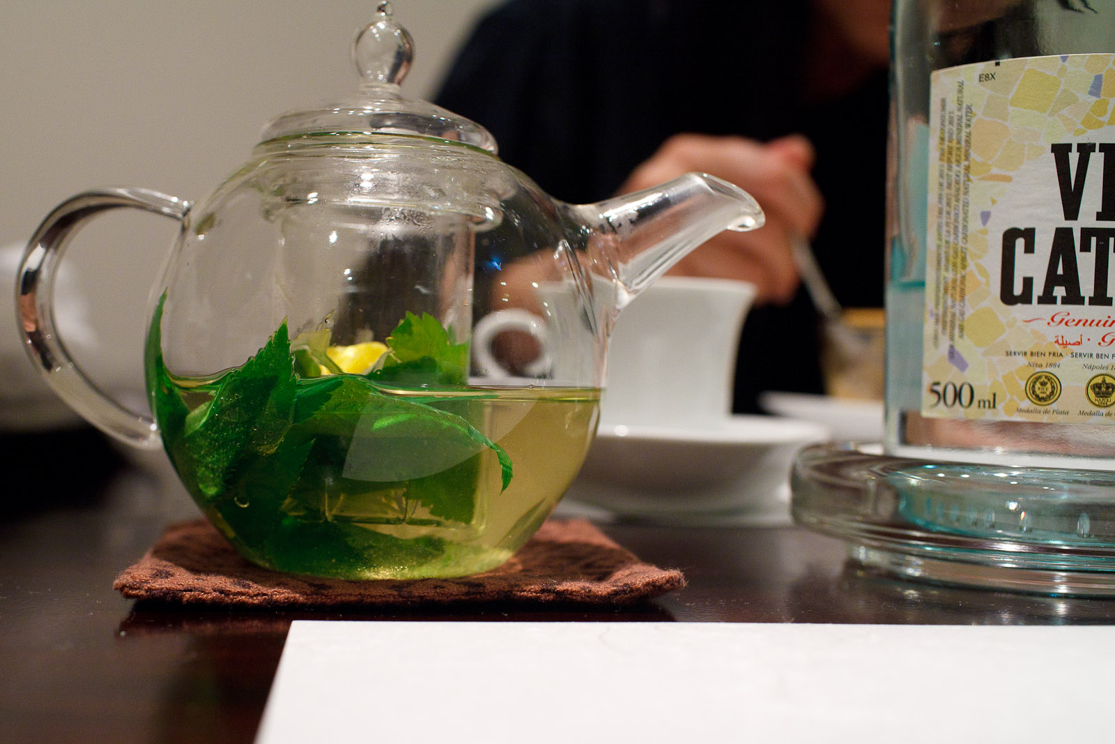 Esaki, Tokyo - 10-herb infusion tea