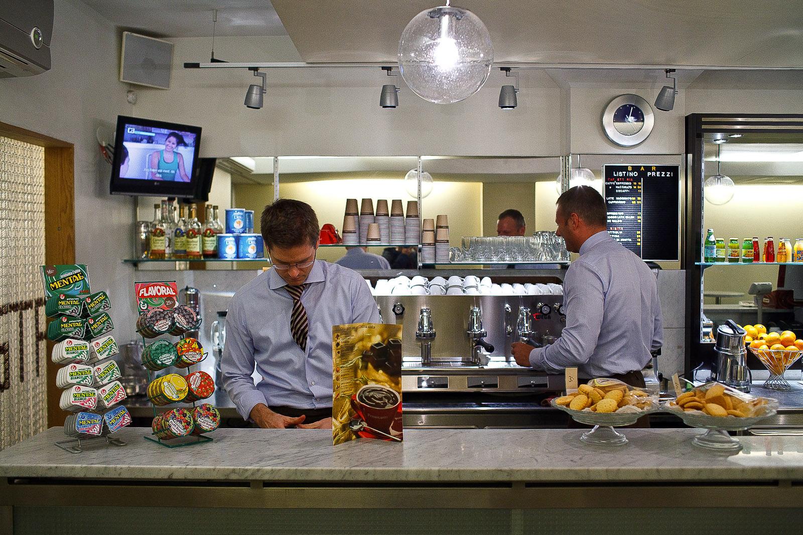 Espresso Sosta, Stockholm - Baristi at Work
