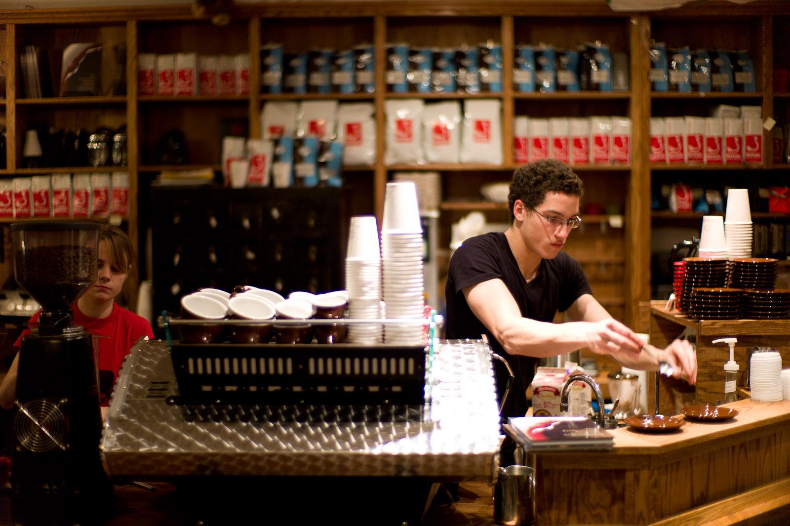 Cafe Myriade - Espresso Machine