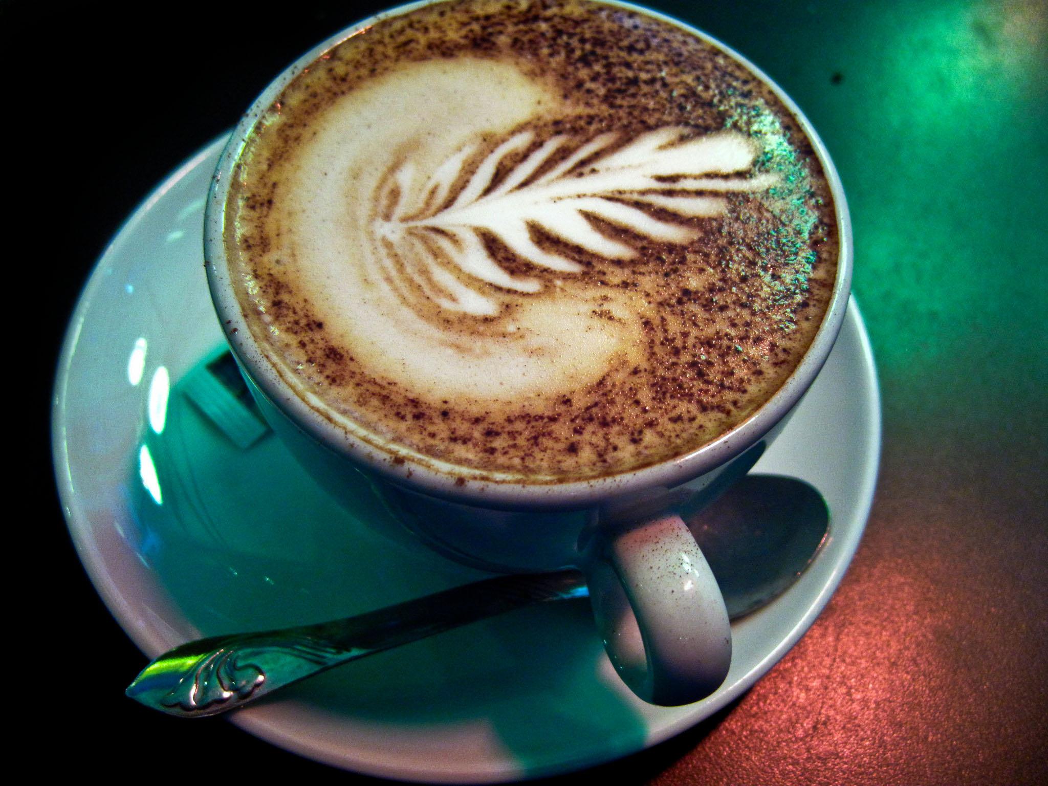 Gocce di Caffè - Cappuccino with Cocoa Powder