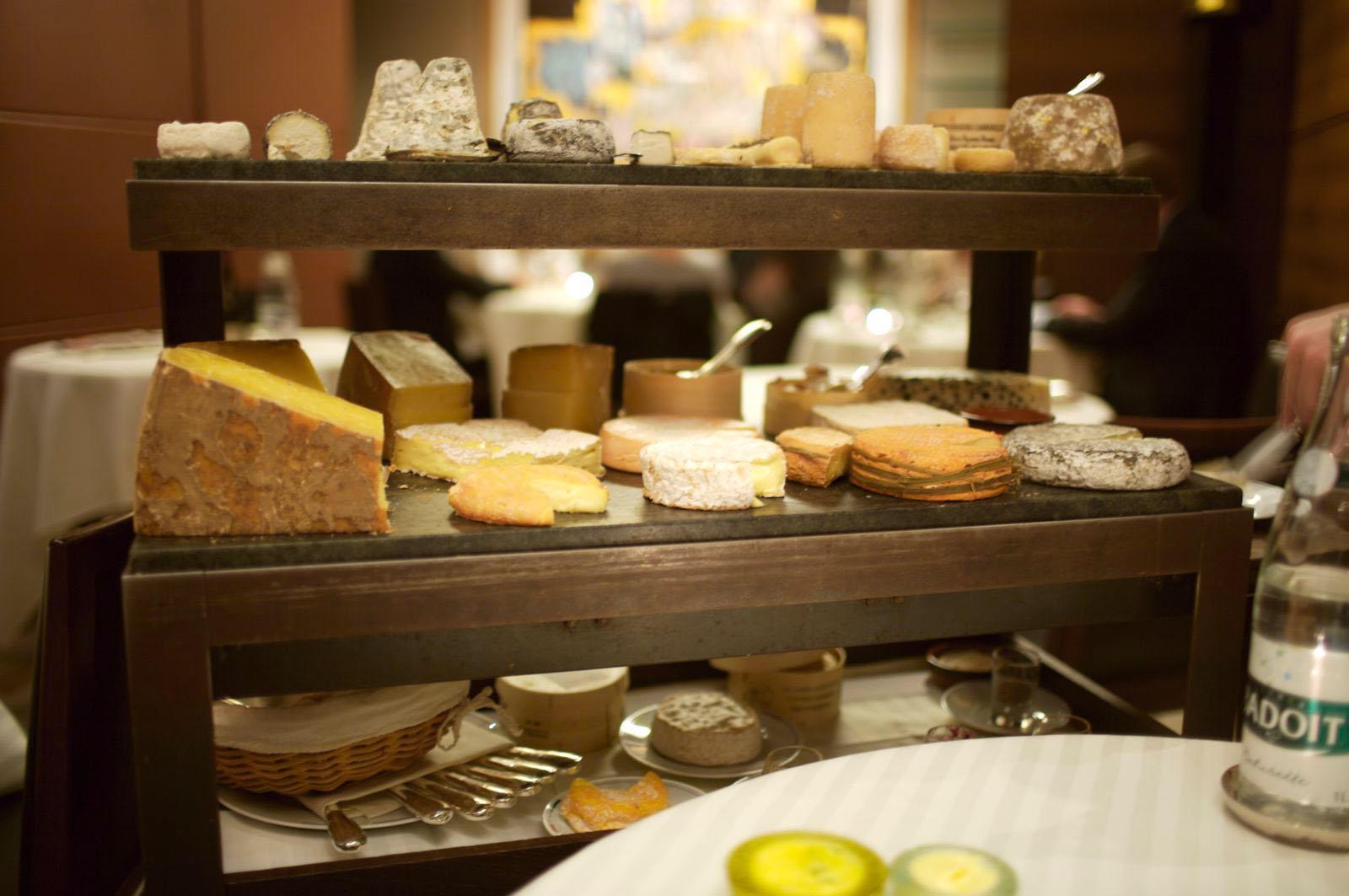 La selection de fromage