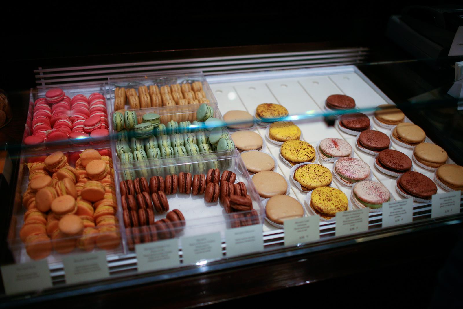 Pierre Hermé, Paris - Macarons for selection