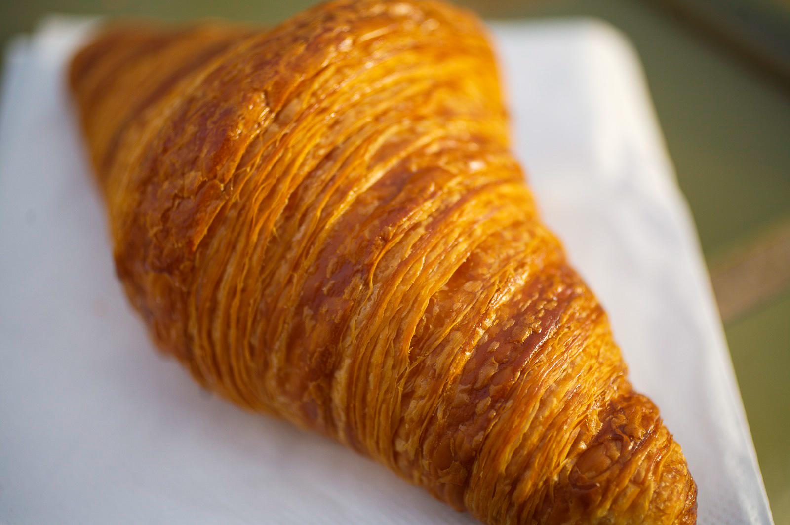 Croissant - pâte levée feuilletée