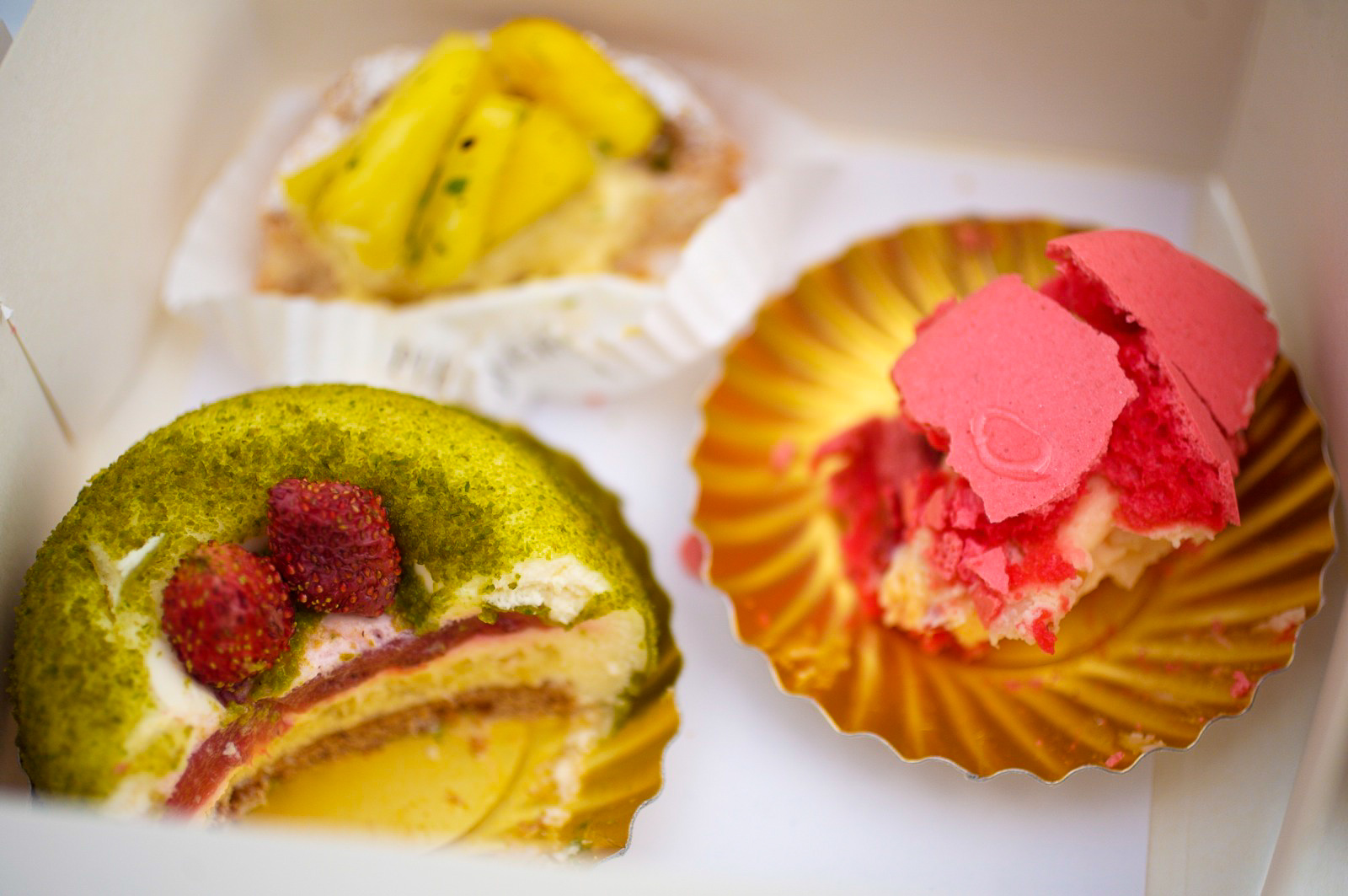 Box of Gâteaux and Cakes