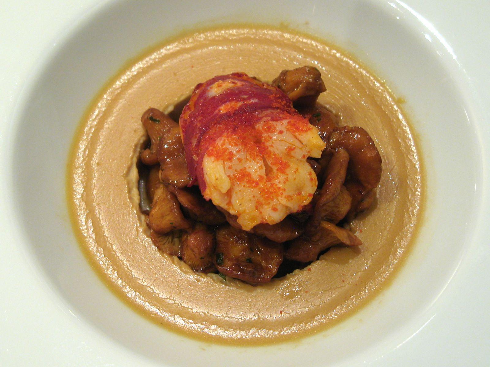 Royale de homard breton aux châtaignes