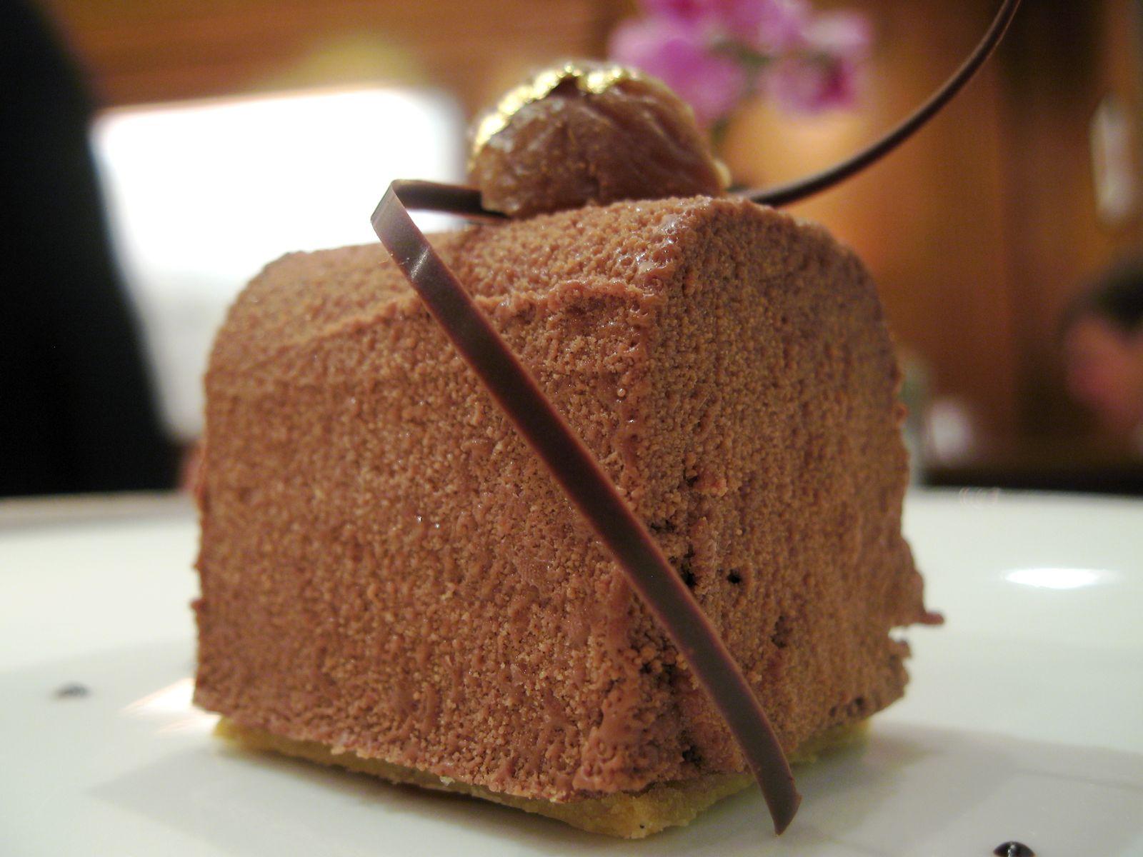 Craquant au chocolat et aux marron