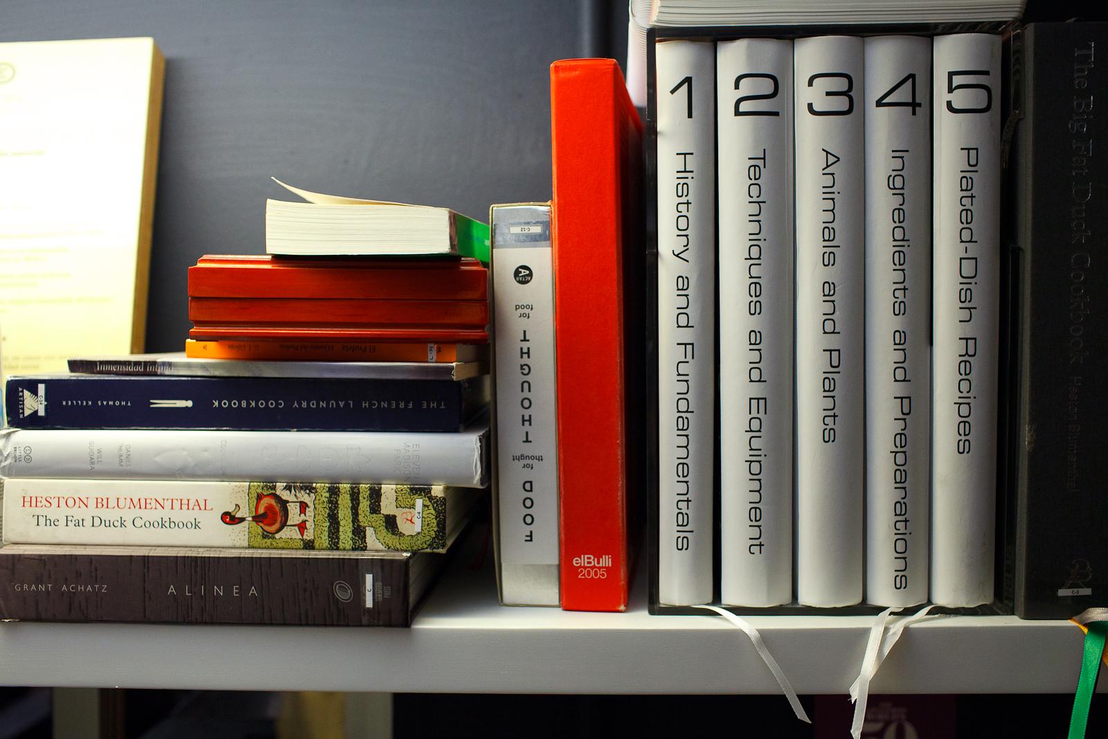 Chef Olvera's Bookshelf