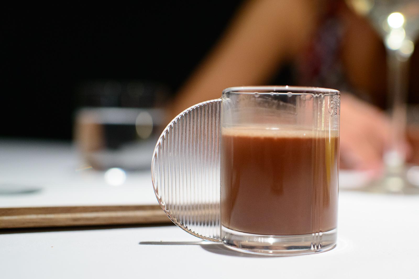 Agua de chocolate