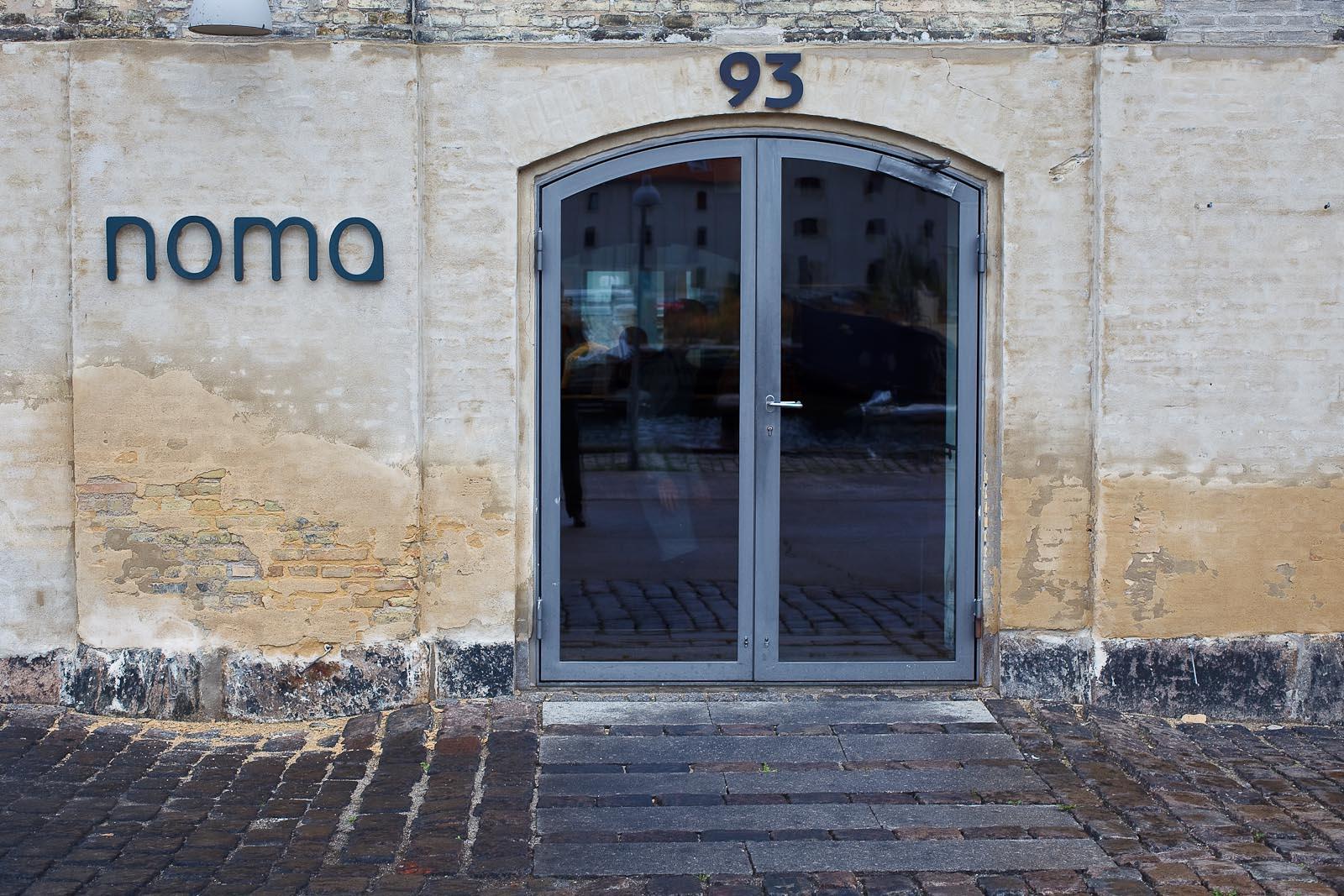 Noma - Entrance to Restaurant