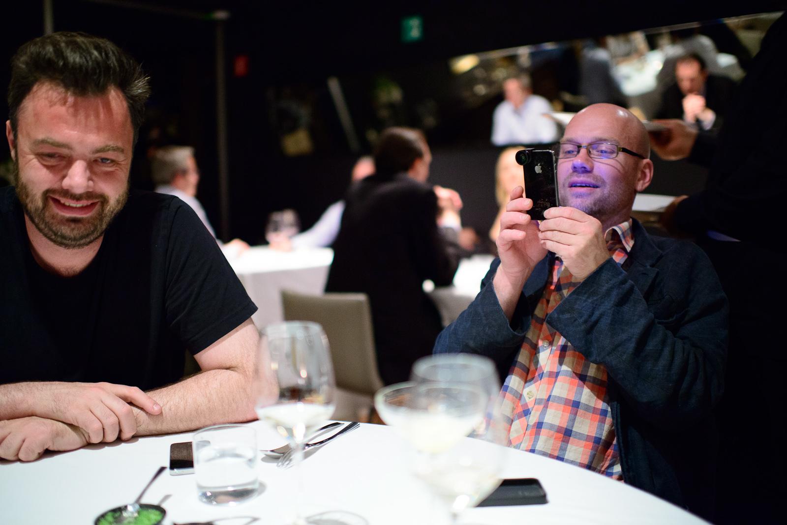 Chefs Bo Bech and Magnus Ek