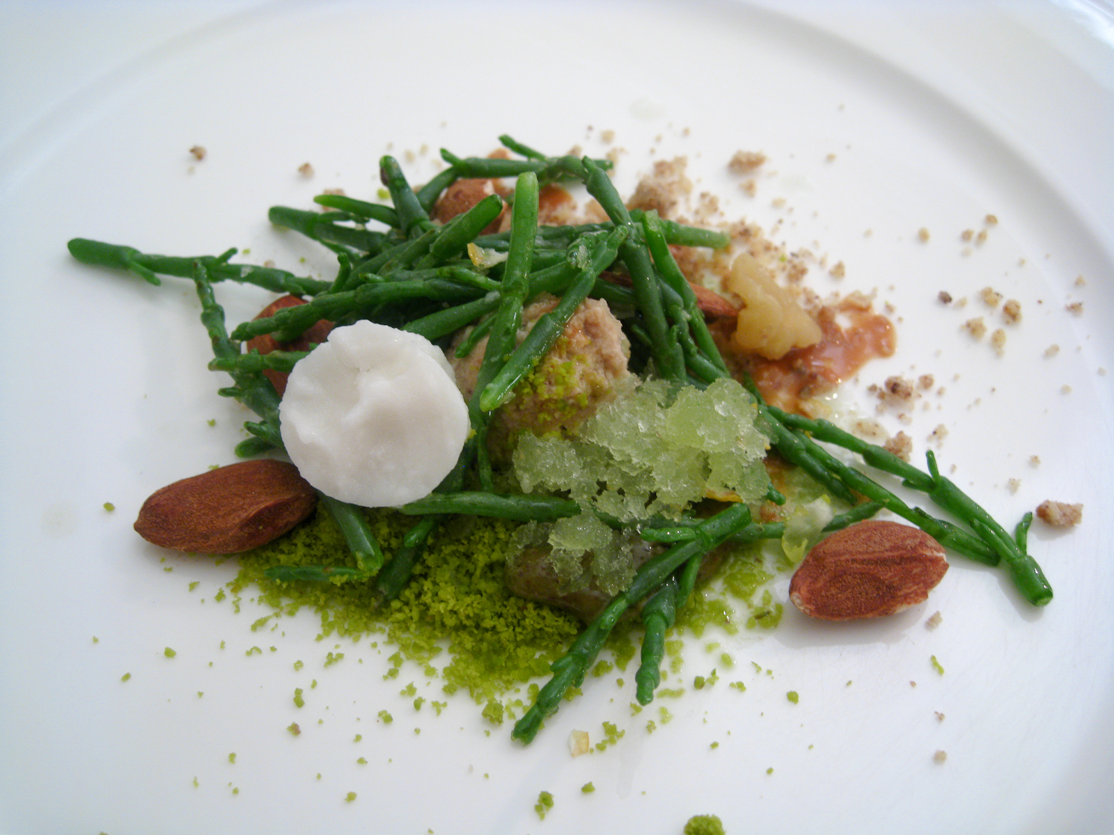 Il Canto - Frutta secca e salicornia