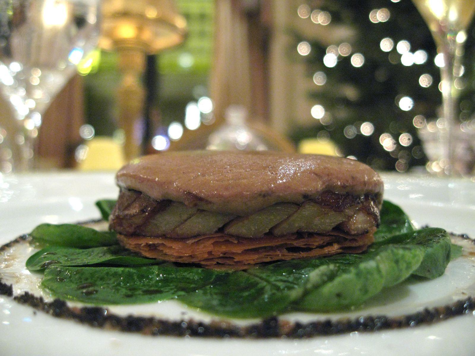 Tarte d'artichaut et de truffe noire de Périgord