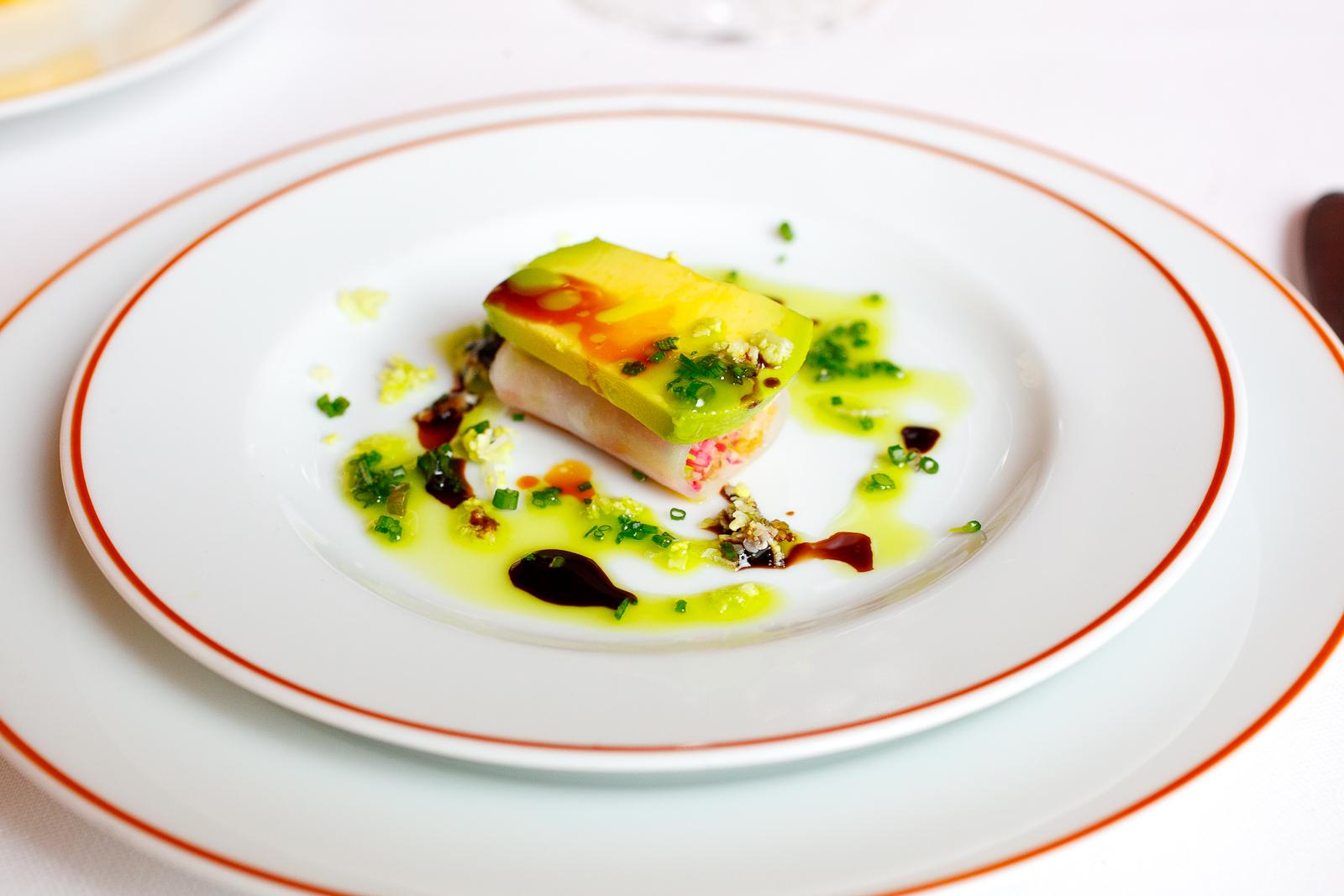 Sushi légumiers à la moutarde d'Orléans oncteuse; mesclun de Sylvain