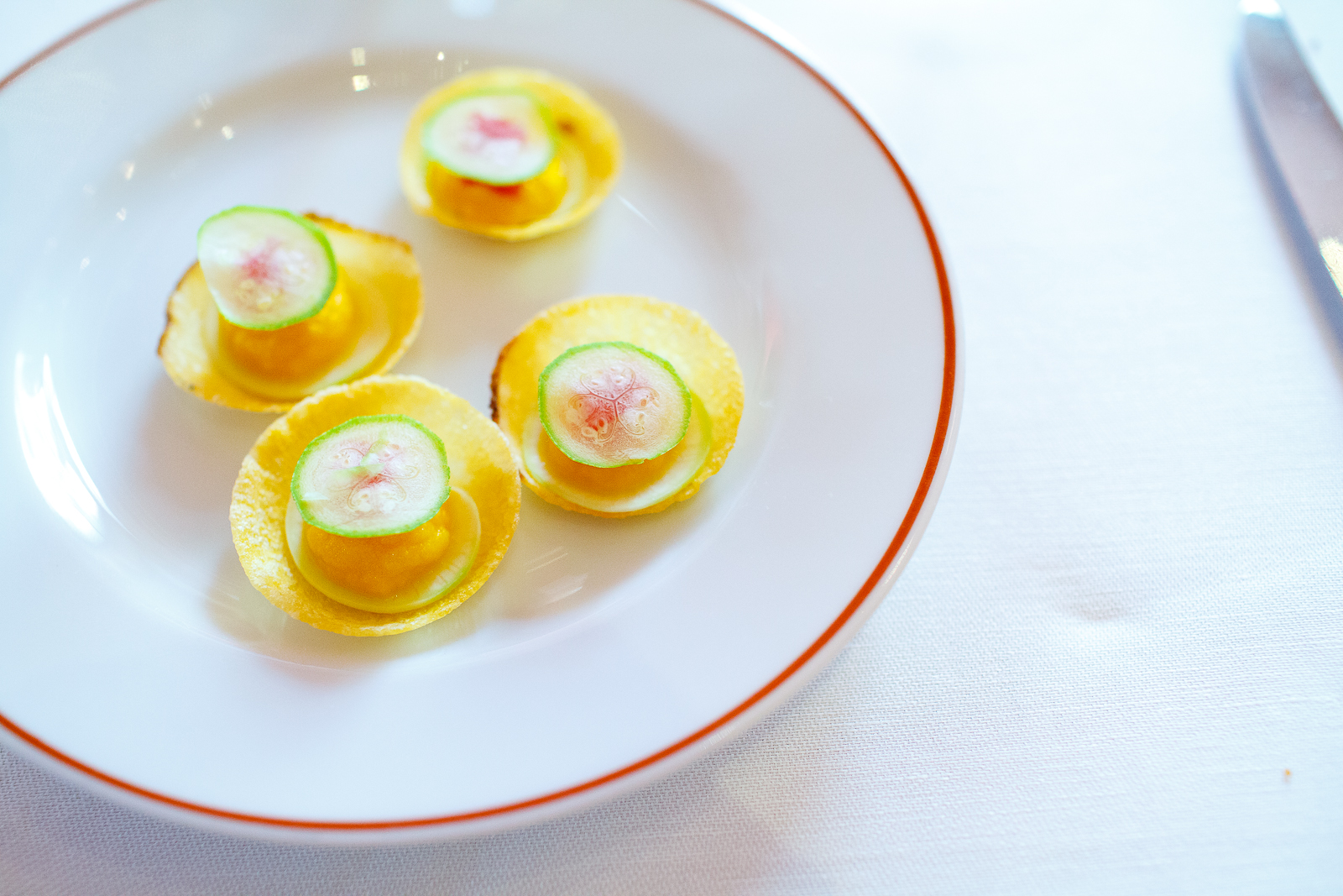 Small squash tartes