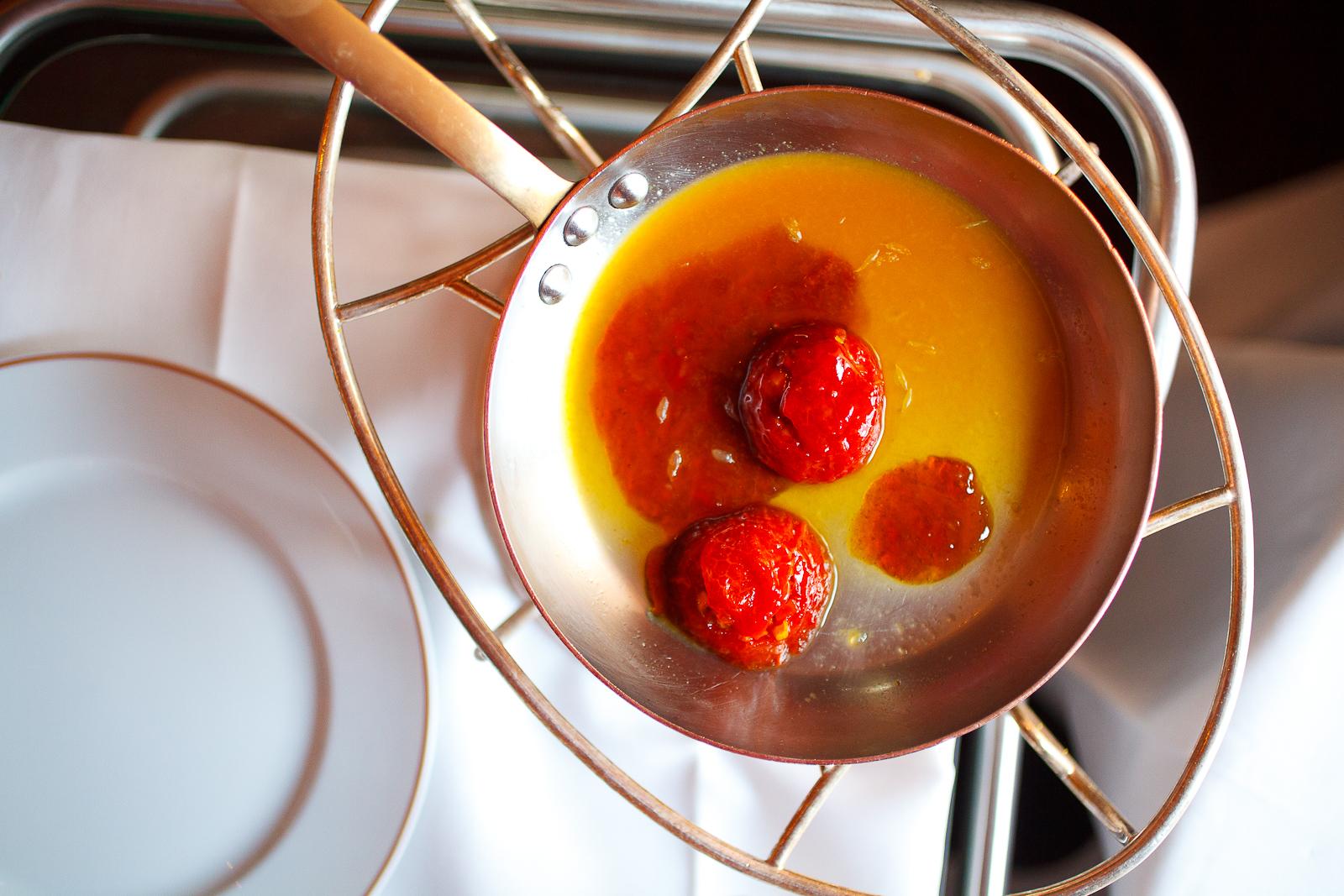 Caramelized tomatoes