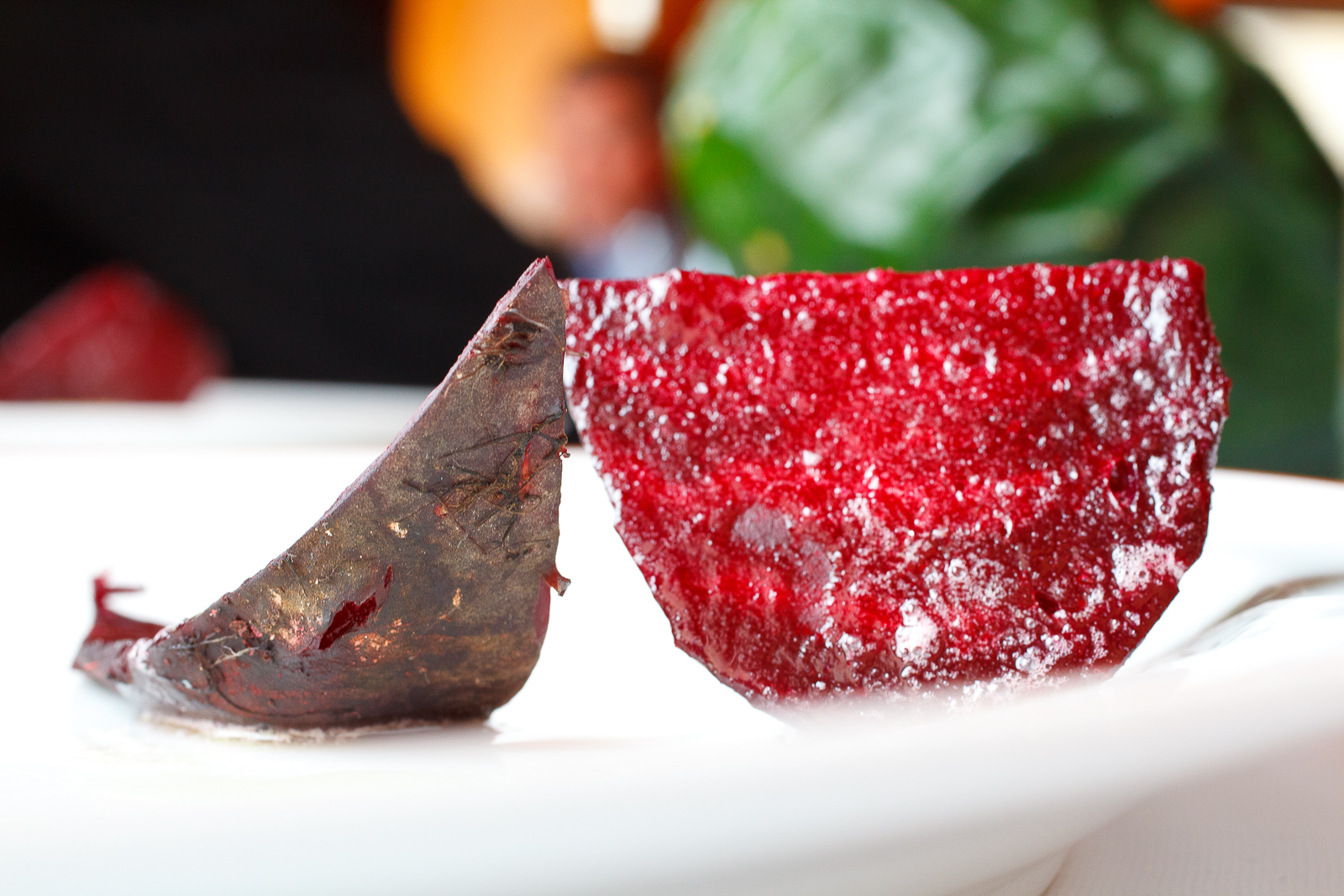 Beet roasted in its skin