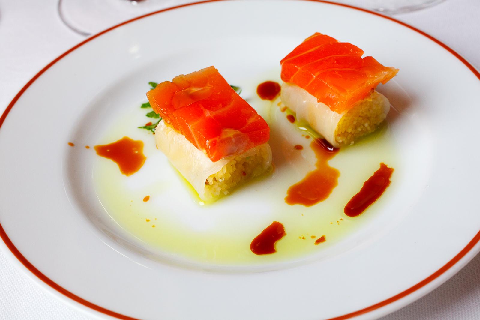 "Salmon ""sushi"""