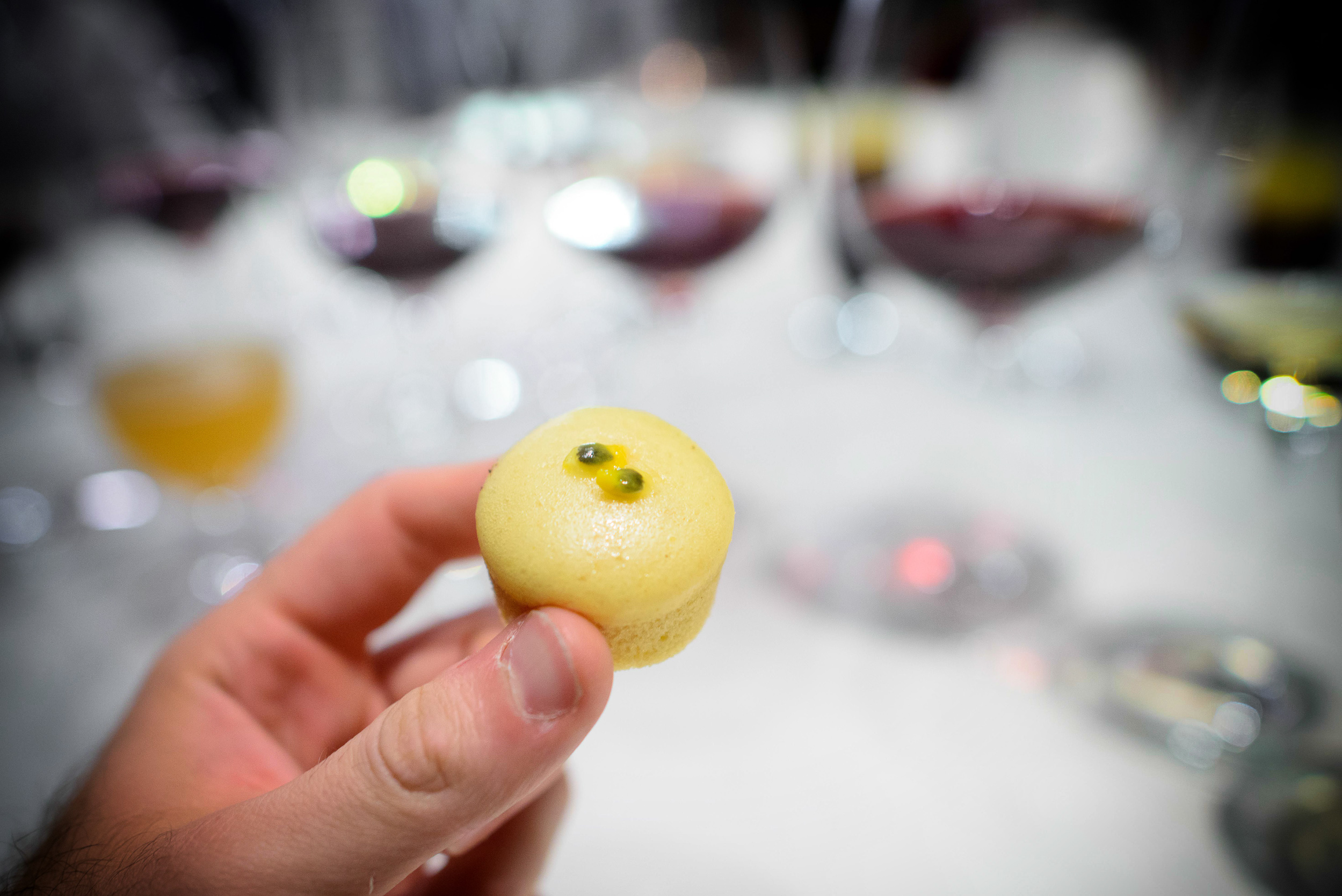 Steamed crêpes (Passion fruit)