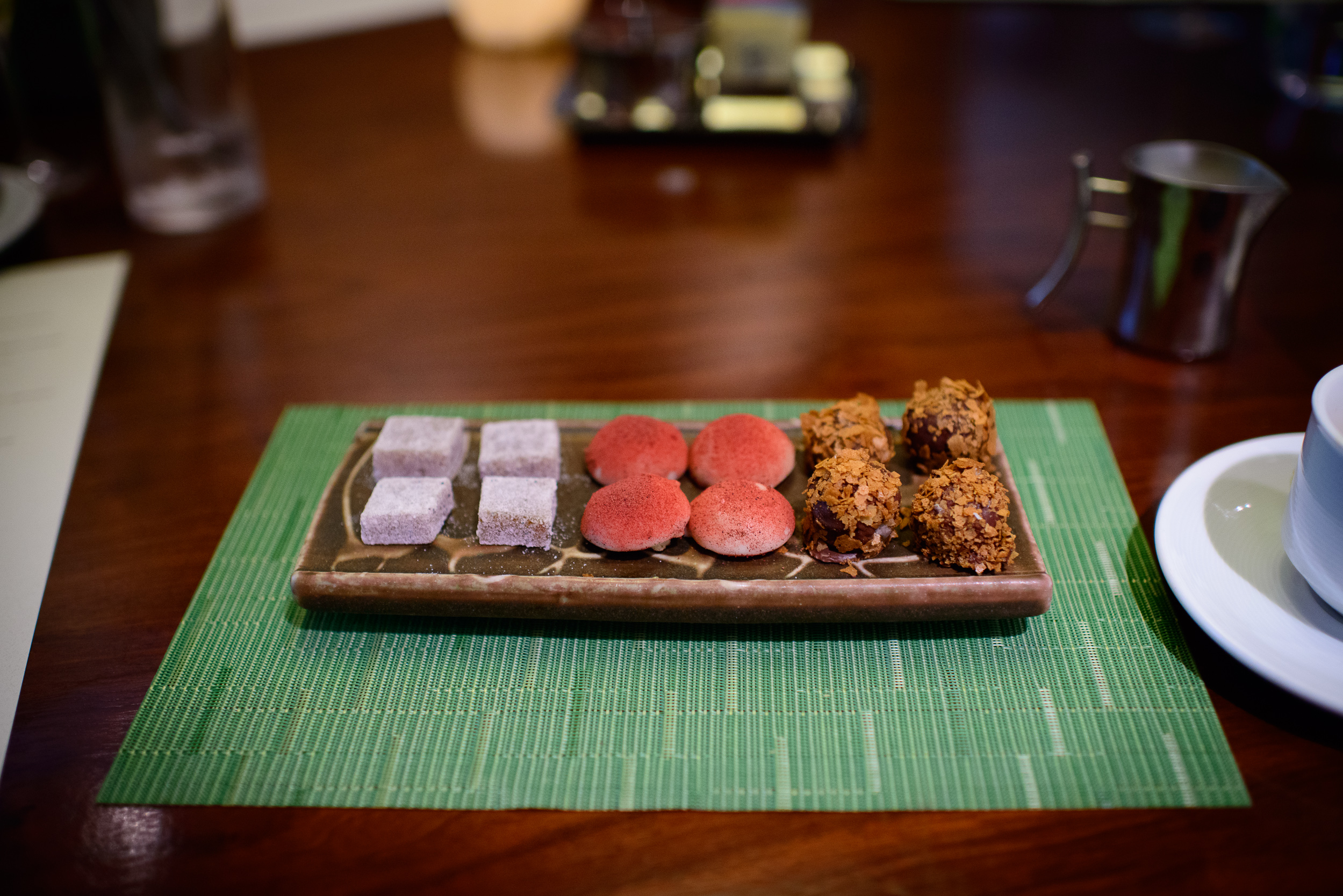 9th Course: Petits fours