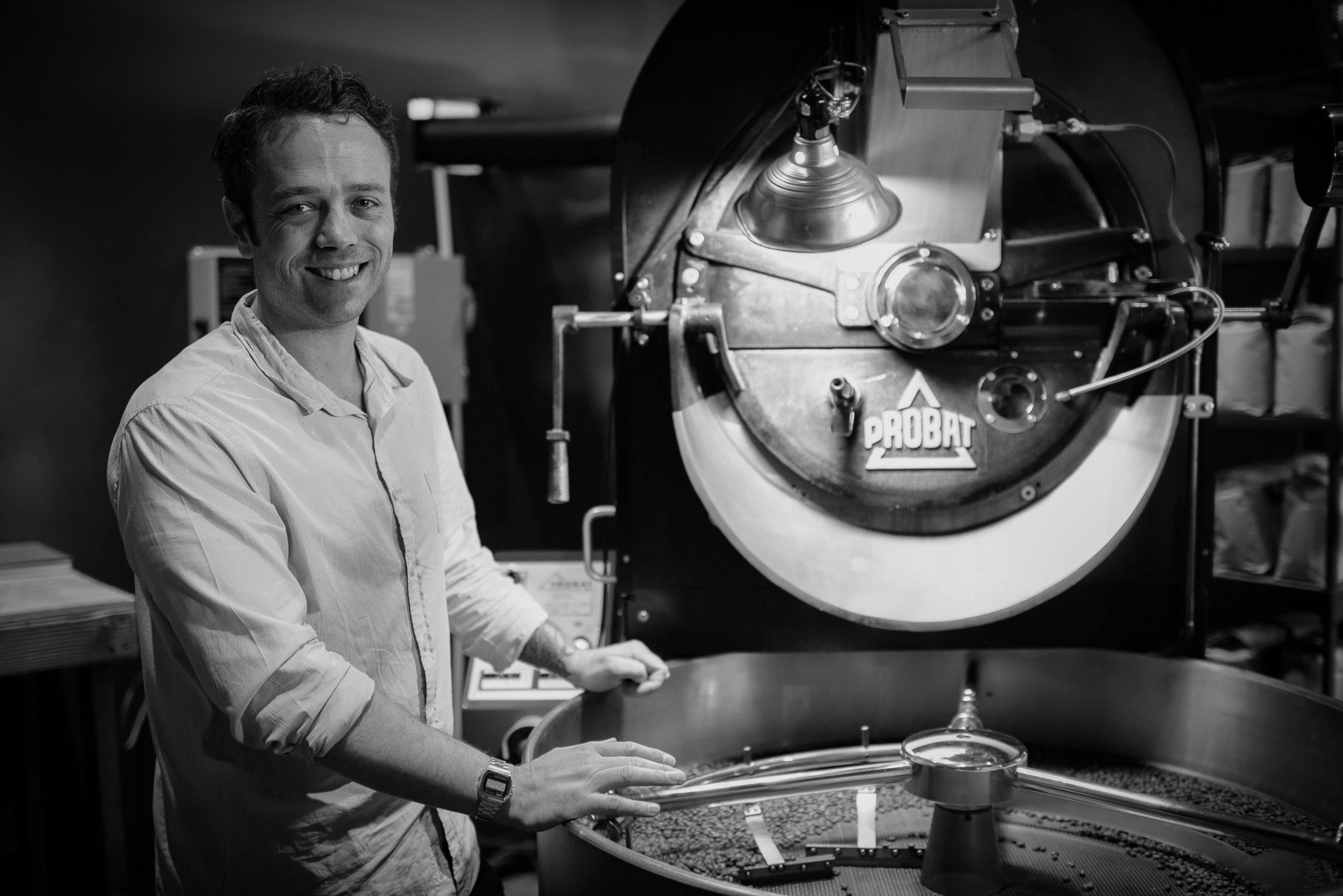 Deaton Pigot, Roaster, Toby's Estate Coffee