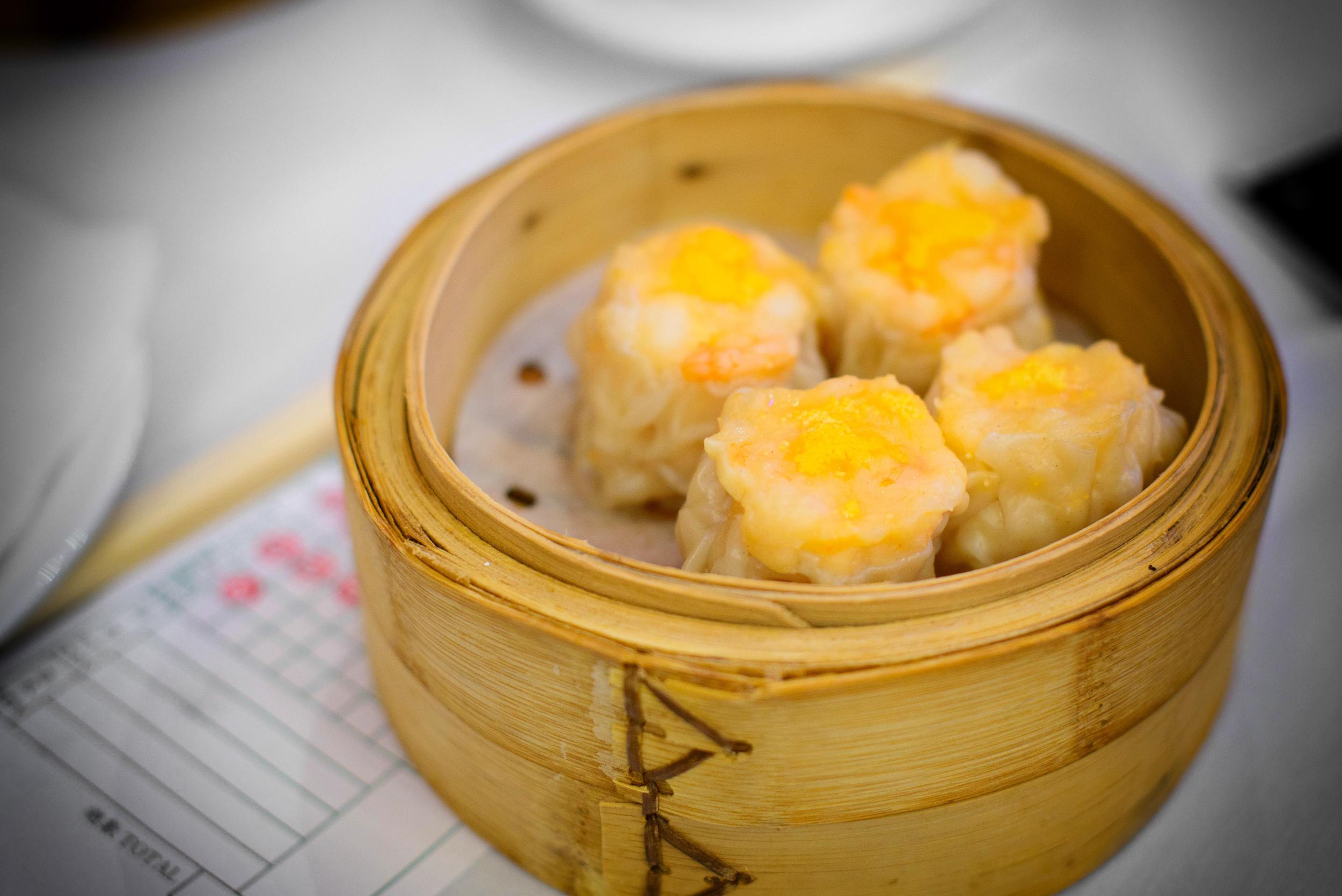 Shrimp dumplings, shumai