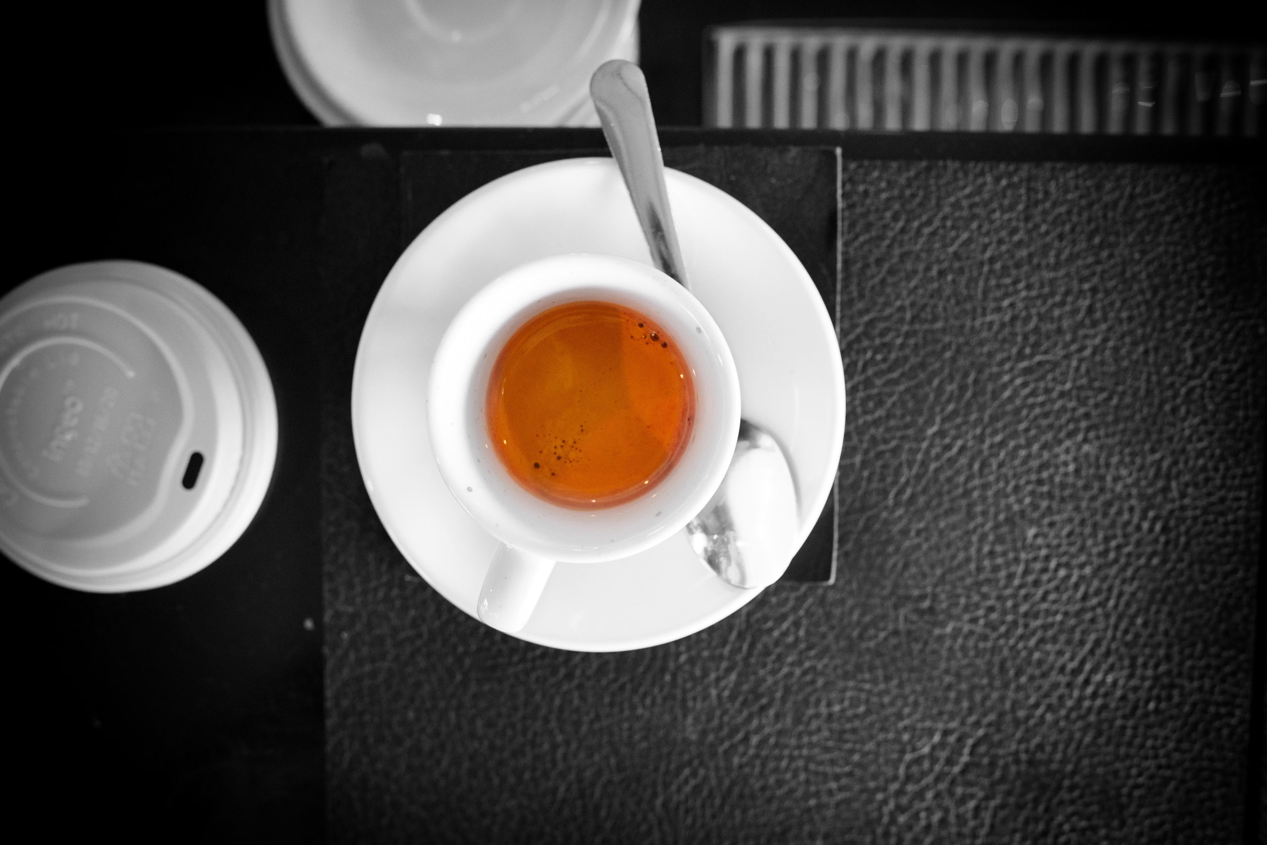 Espresso pulled by David Buehrer from Singapore's Nylon coffee e