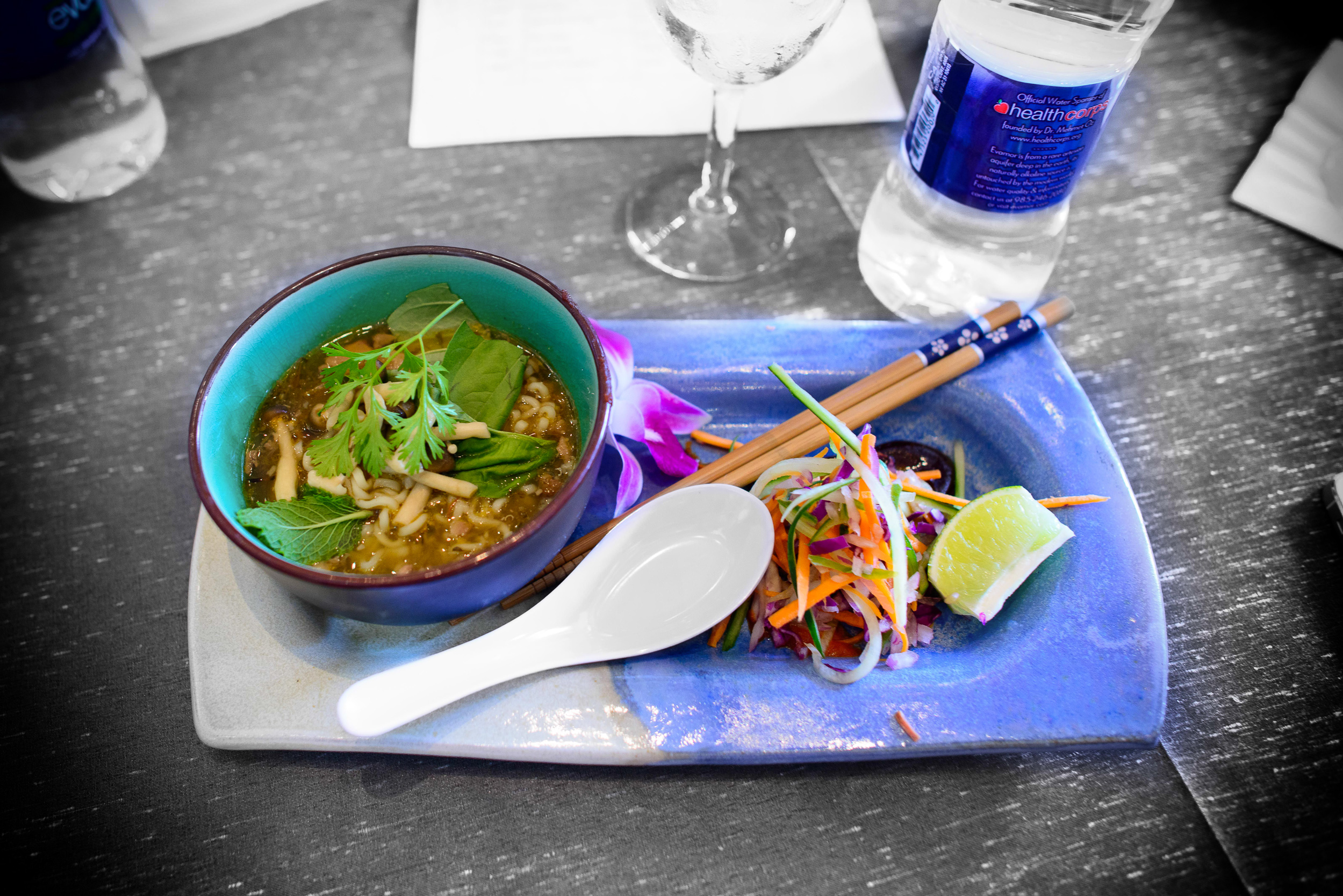4th Contestant: Haven + Cove Cold Bar - Lamb testacle pho
