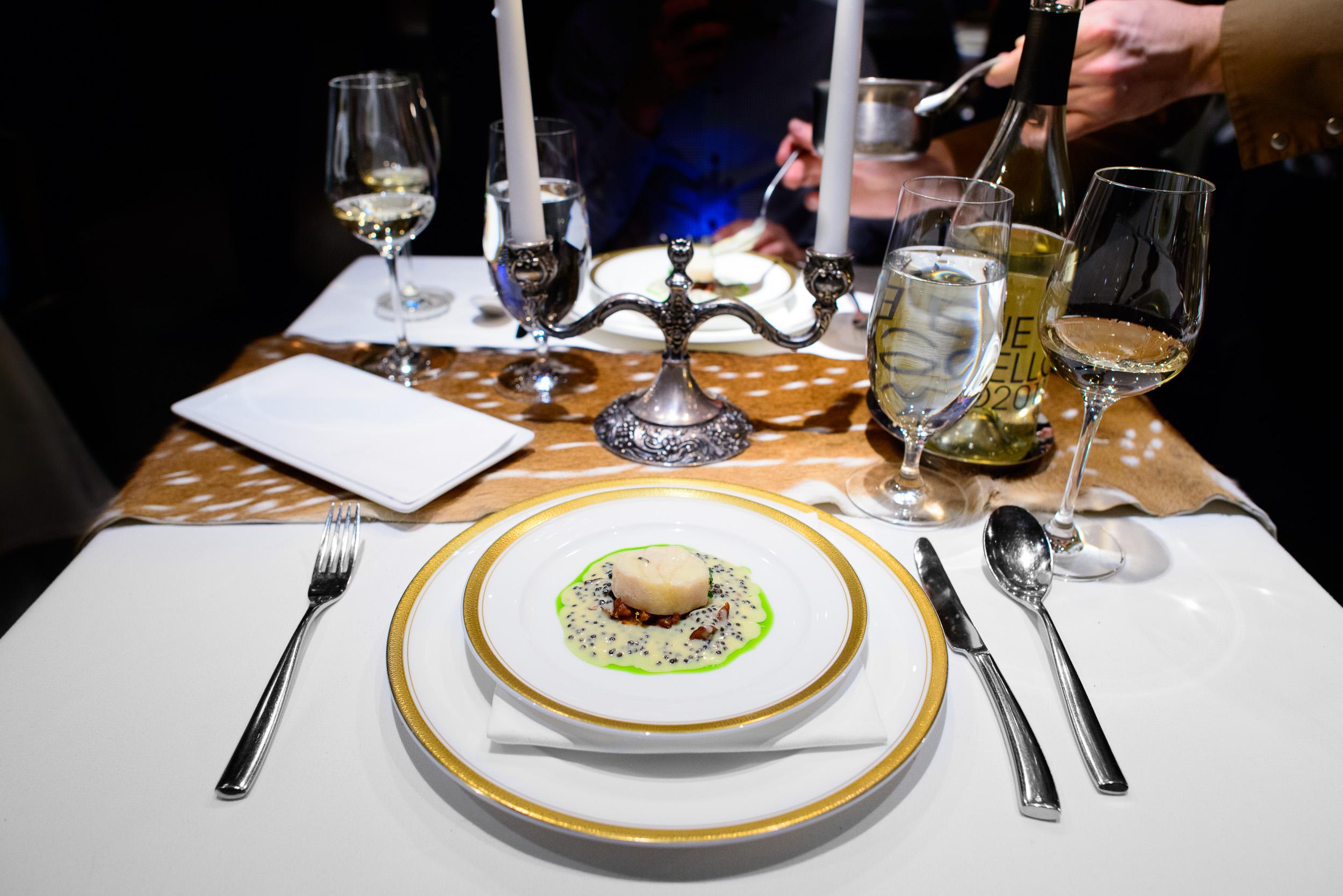 8th Course: Sturgeon & Caviar