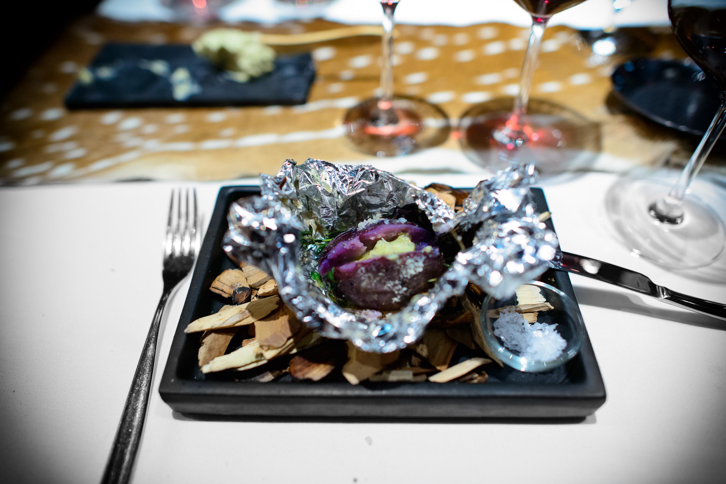 12th Course: Purple majesty potato