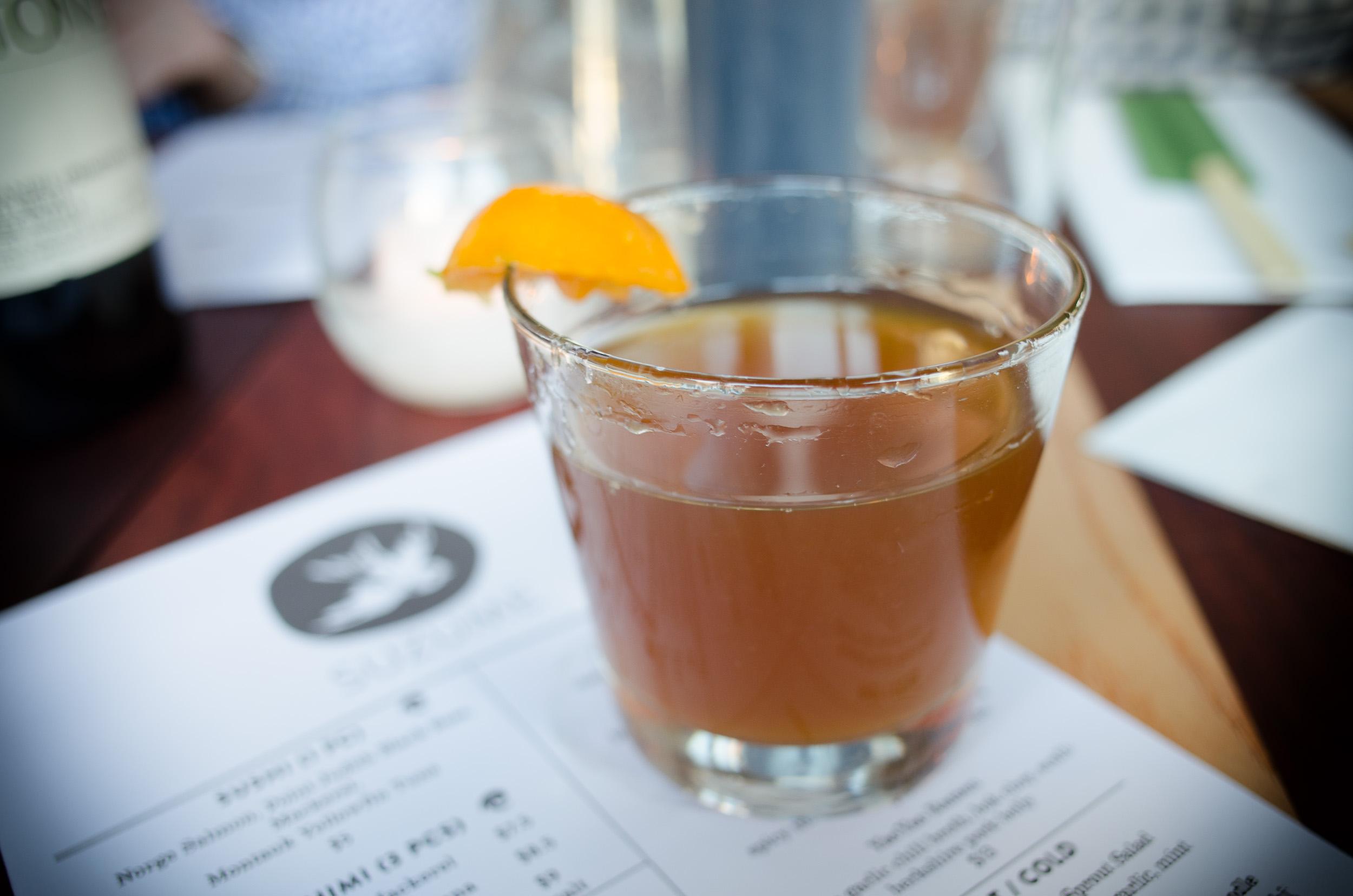 Lady mabel - tequila, fernet-branca, calamansi ($9)