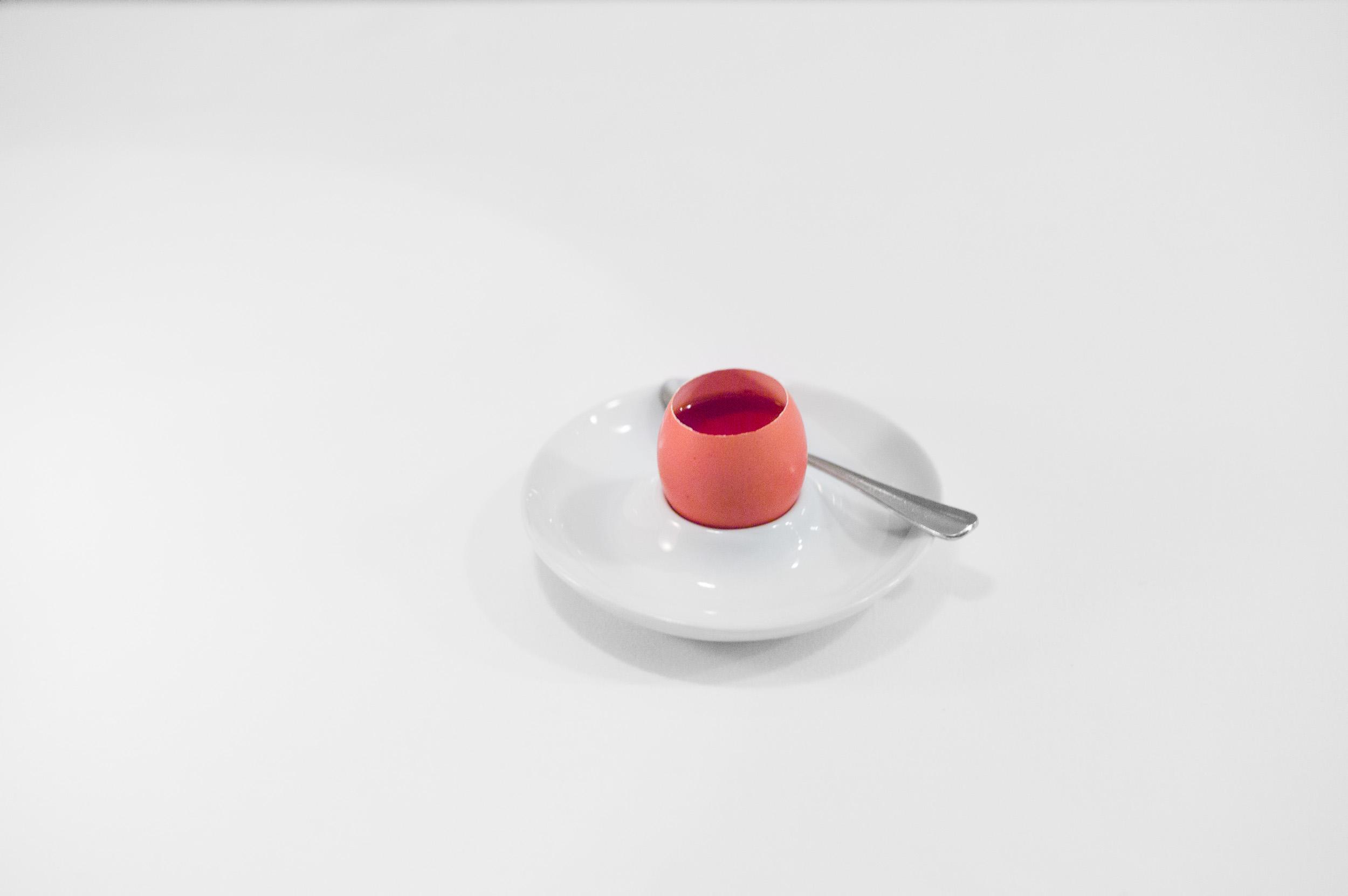 12th Course: Sauternes custard