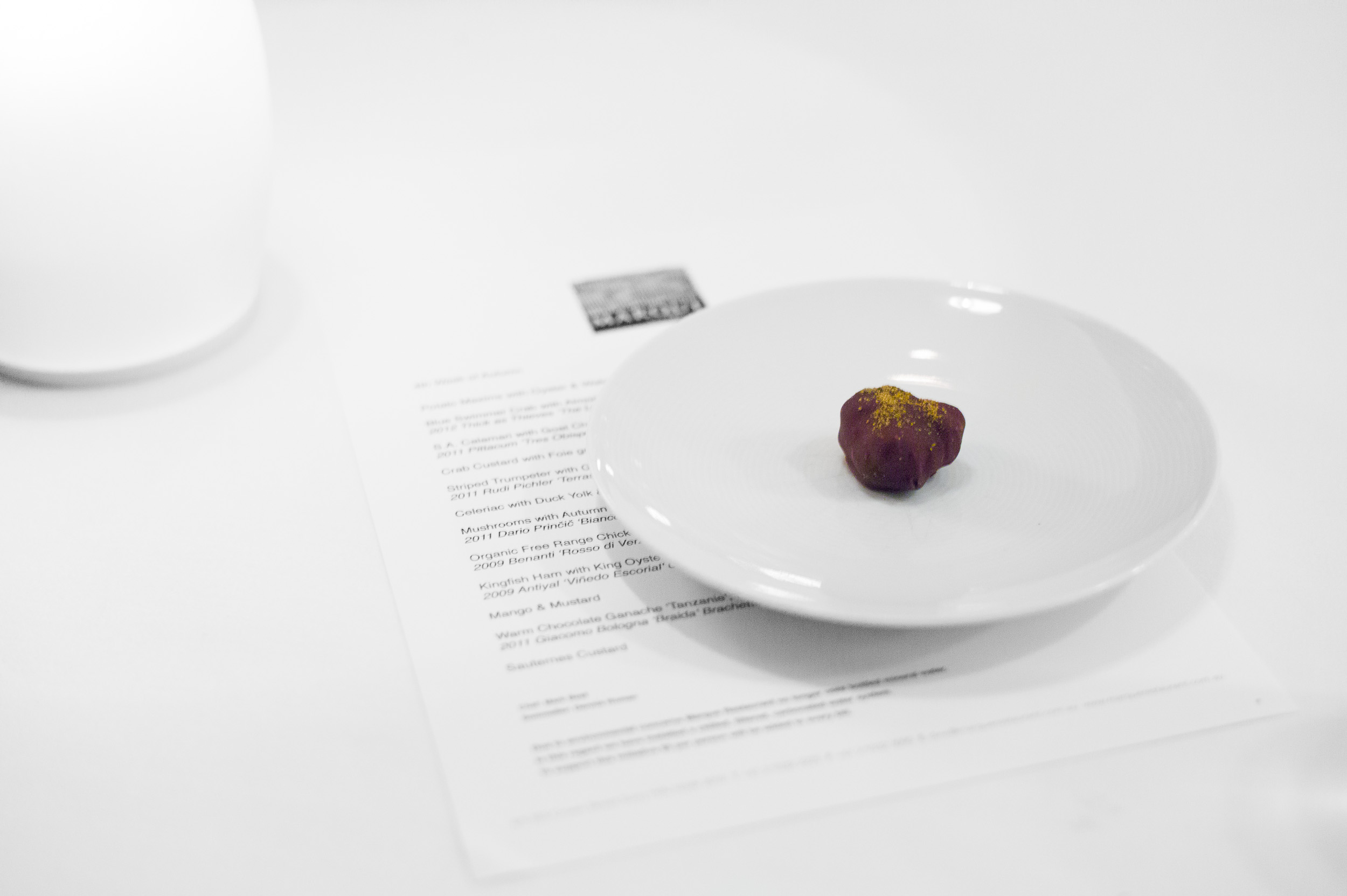 13th Course: Chocolate truffle