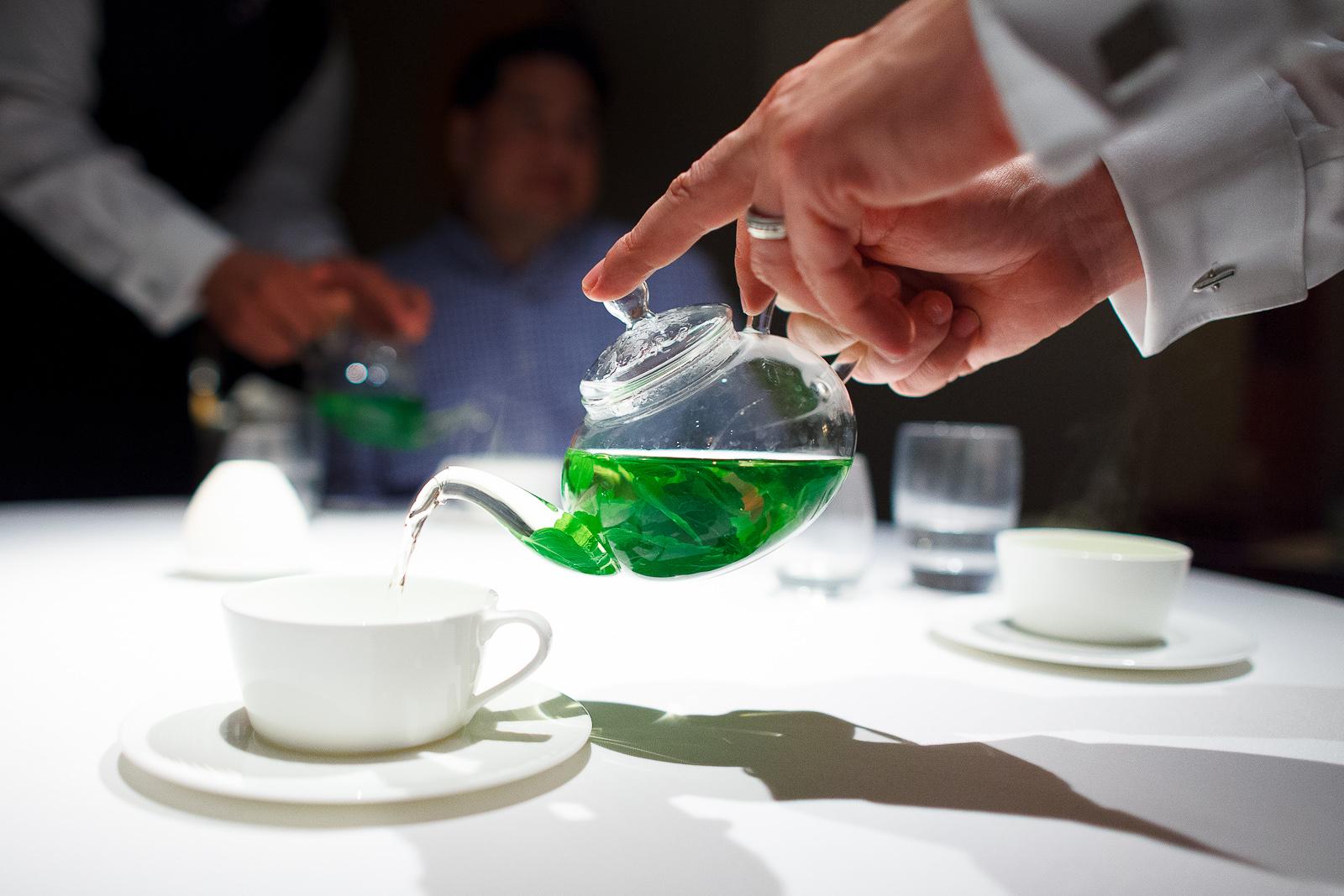 Tea: Garden tisane