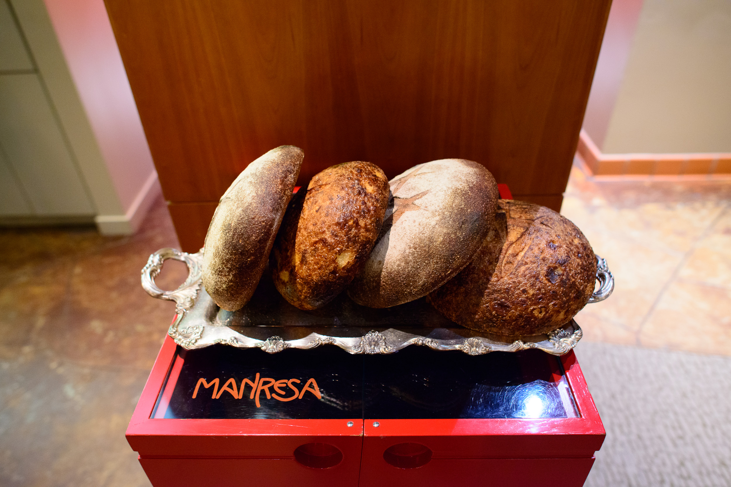 Manresa bread (currently being sold at Campbell farmers market)