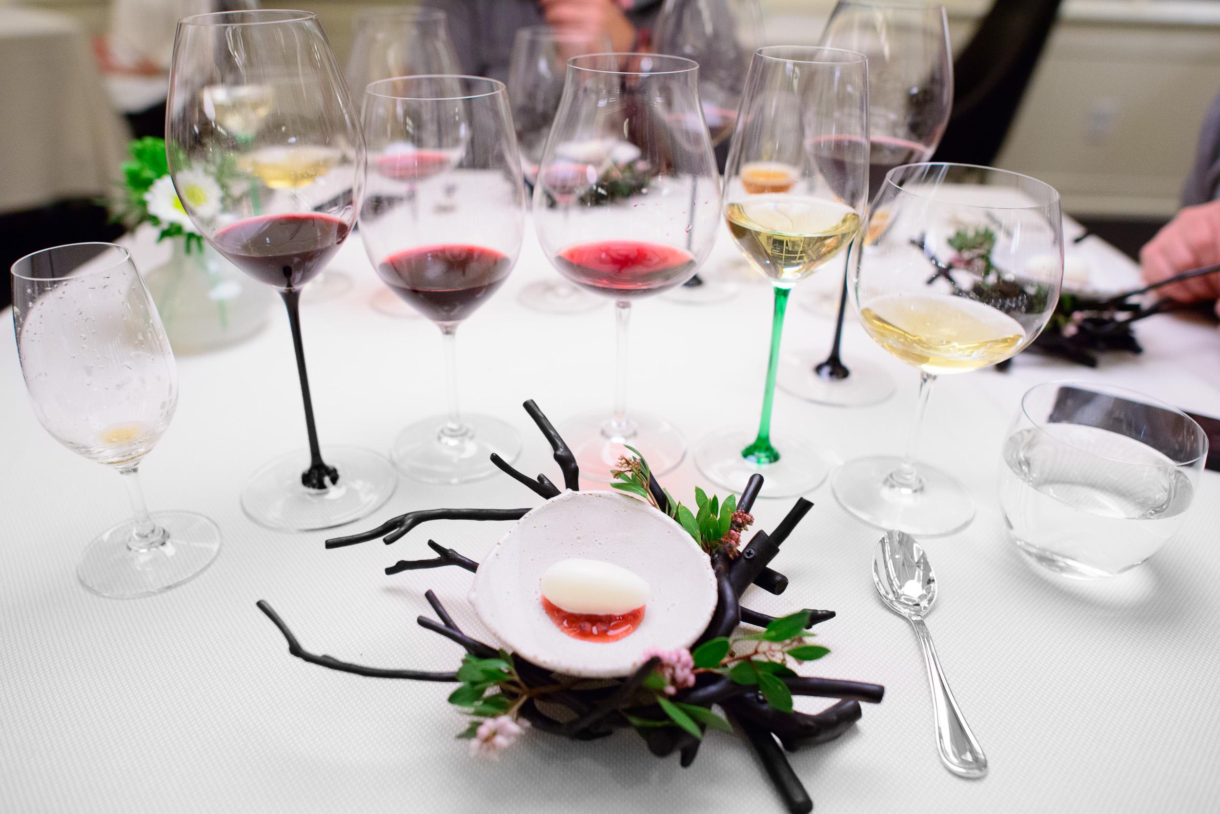 15th Course: Koji sorbet, manzanita berries