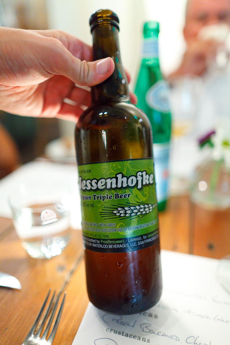 Jessenhofke, Belgian triple beer