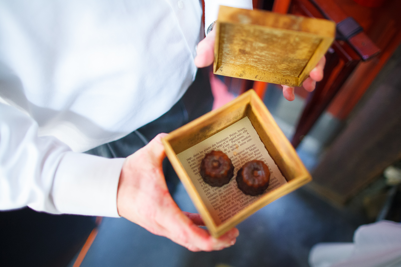 Take home: Cannelés