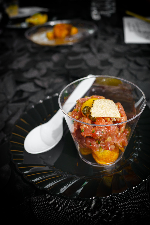 Frank's Americana - Venison tartare with white truffle
