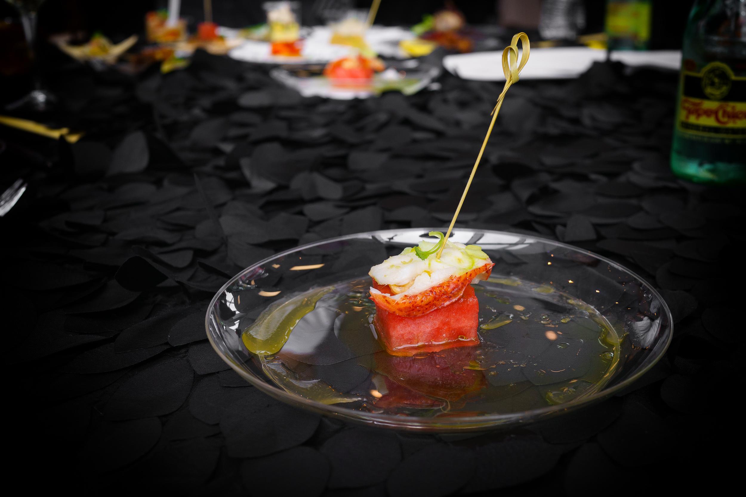 Straits Asian Bistro - Lobster Watermelon Salad